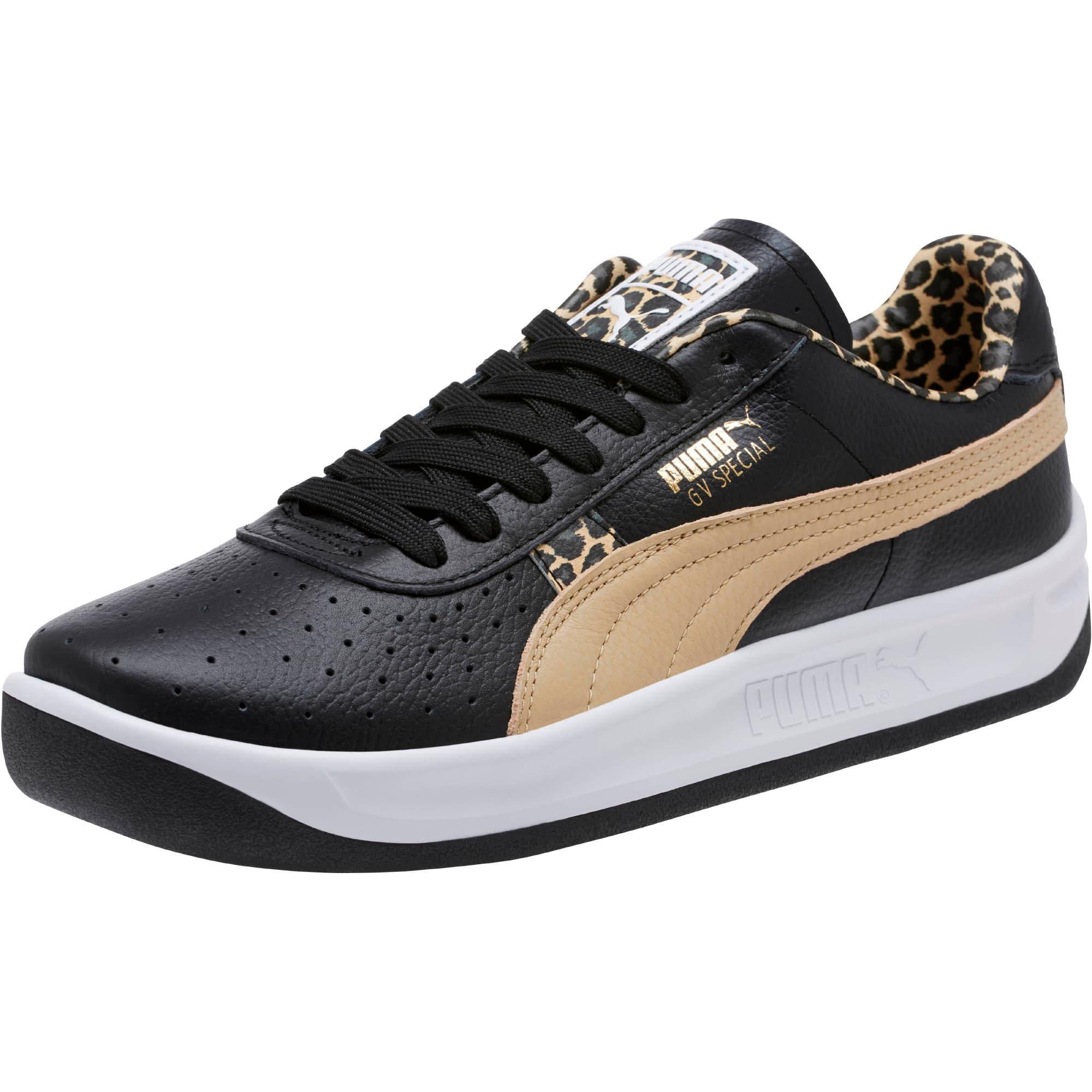 Thumbnail 1 of GV Special Wild Sneakers, Black-Pebble-Puma Team Gold, medium