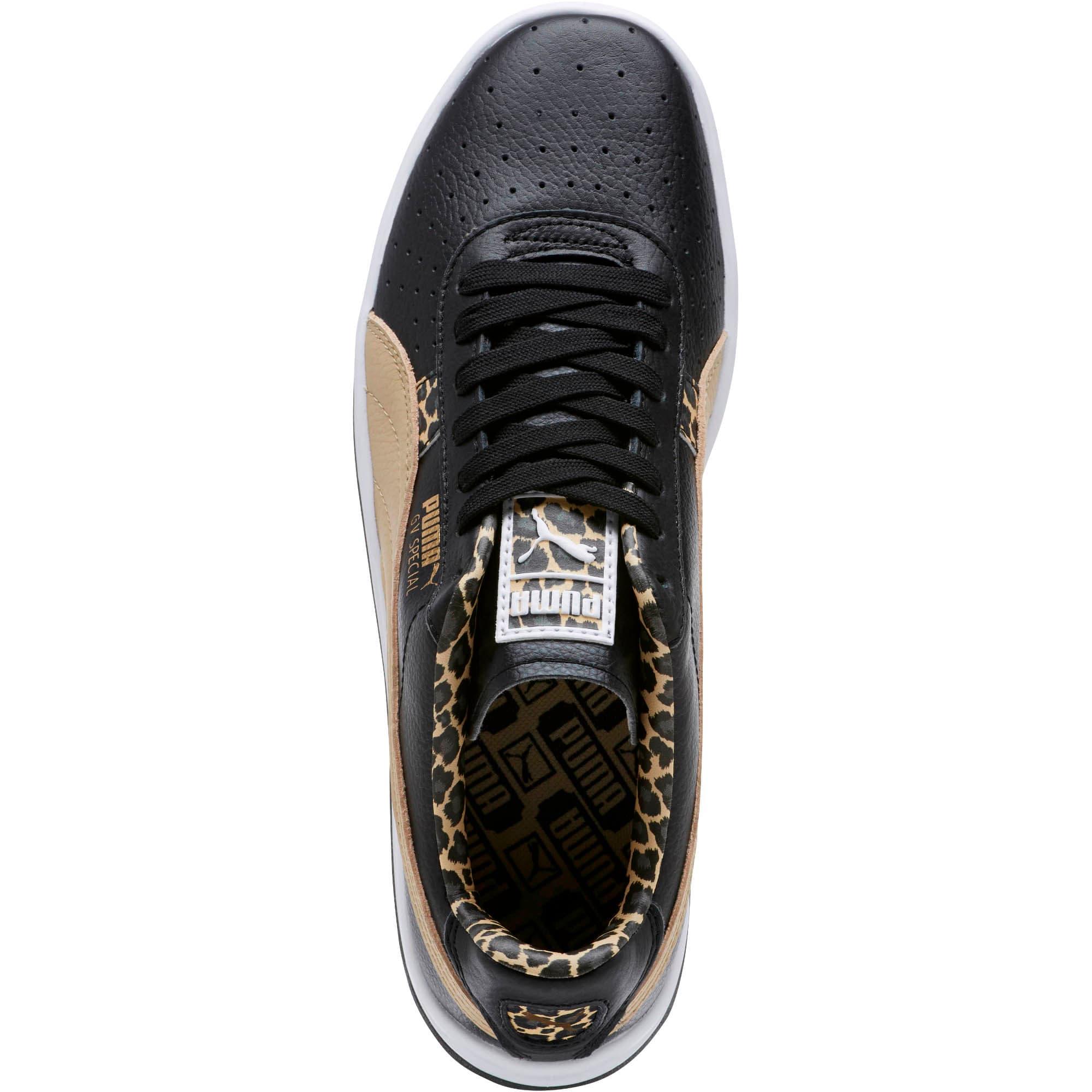 Thumbnail 5 of GV Special Wild Sneakers, Black-Pebble-Puma Team Gold, medium