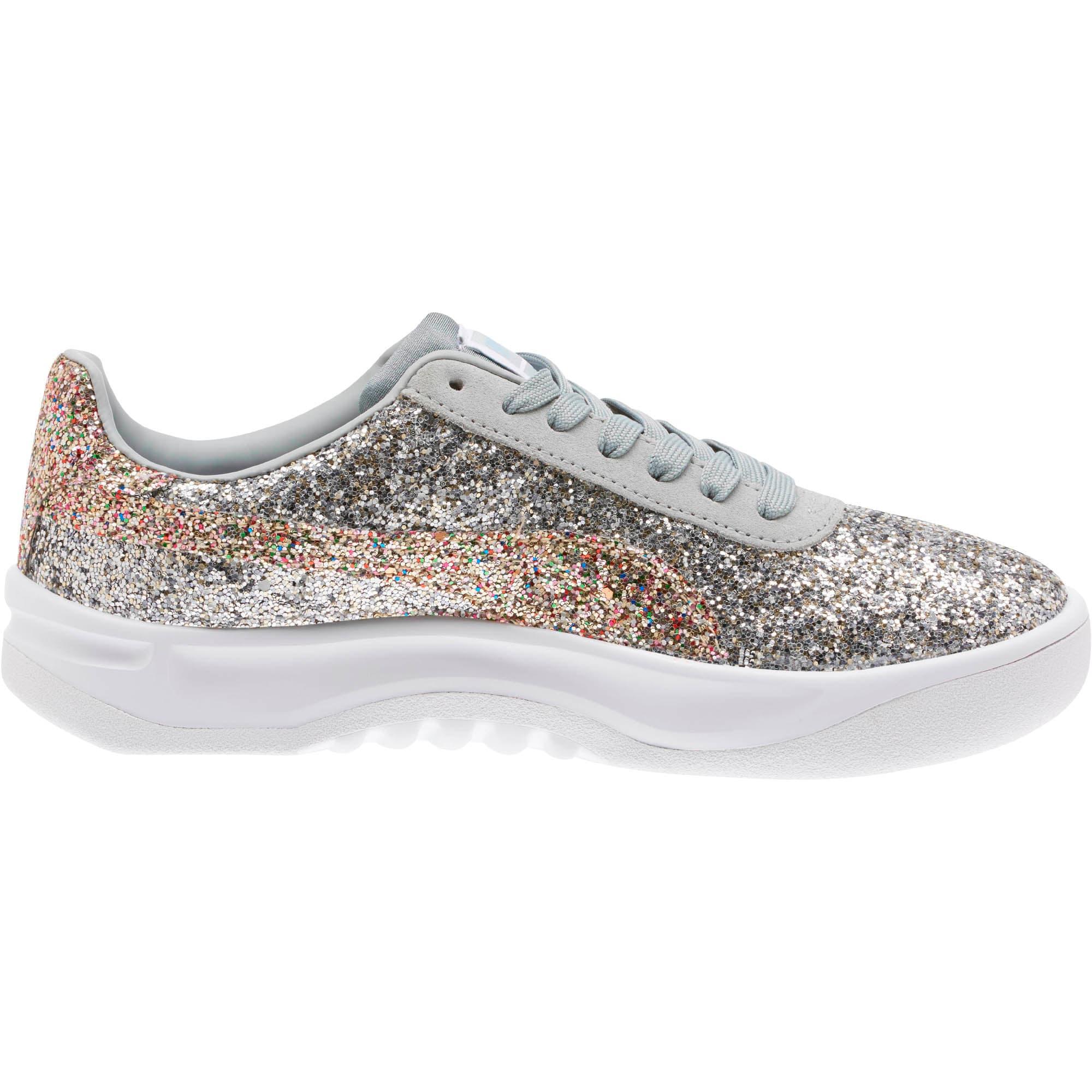 Thumbnail 3 of California Glitz Women's Sneakers, Silver-CERULEAN-Quarry, medium