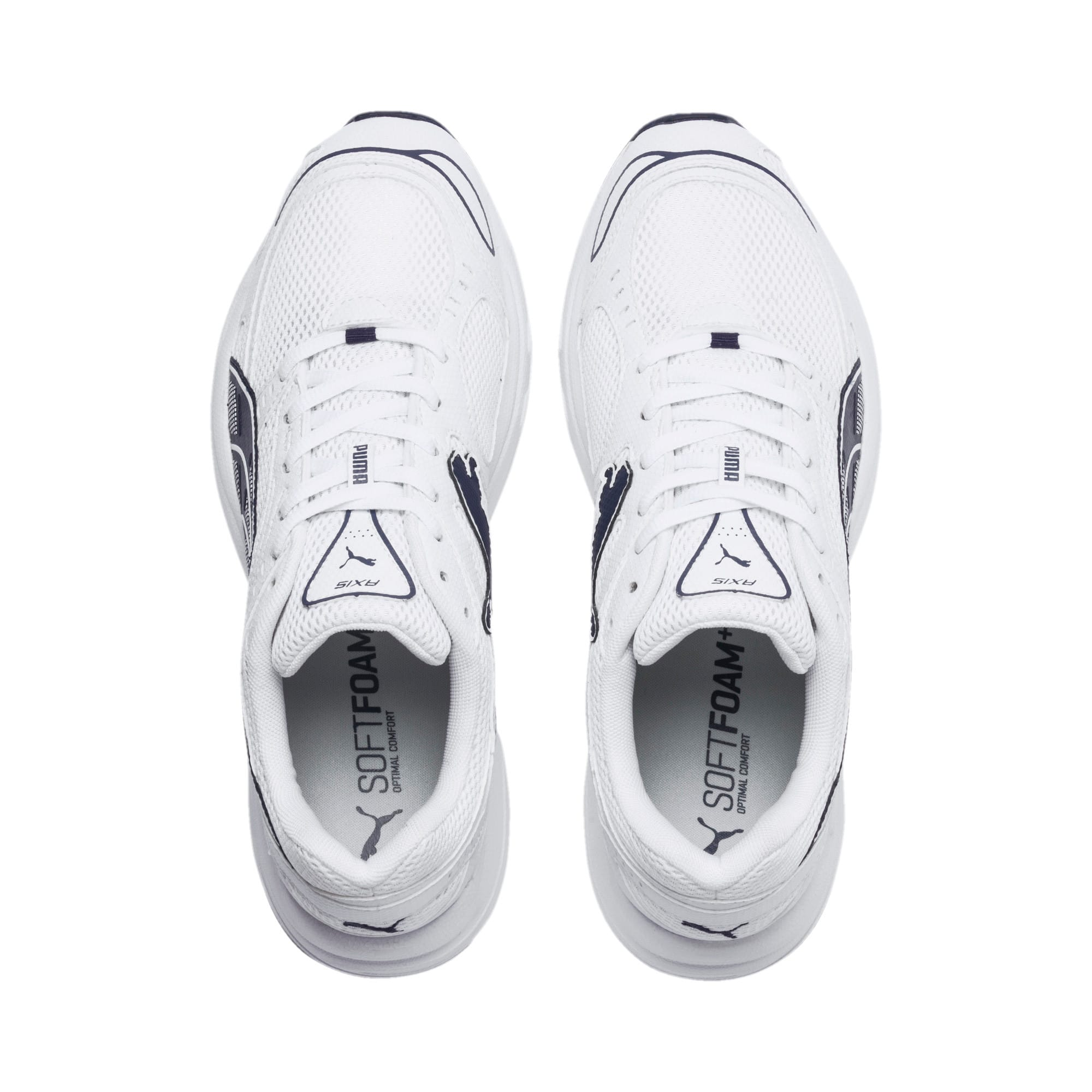 Axis Sneakers, Puma White-Peacoat, large
