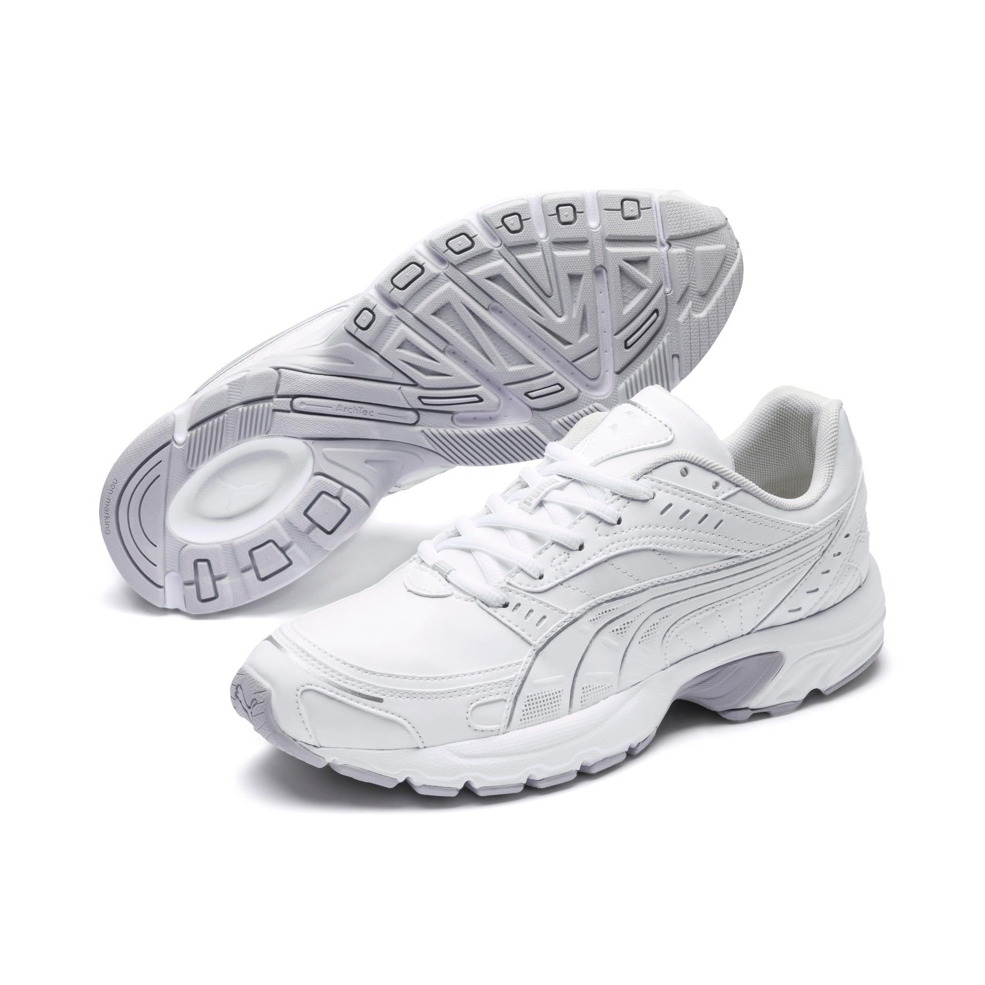 Thumbnail 2 of Axis SL Sneakers, Puma White-Glacier Gray, medium