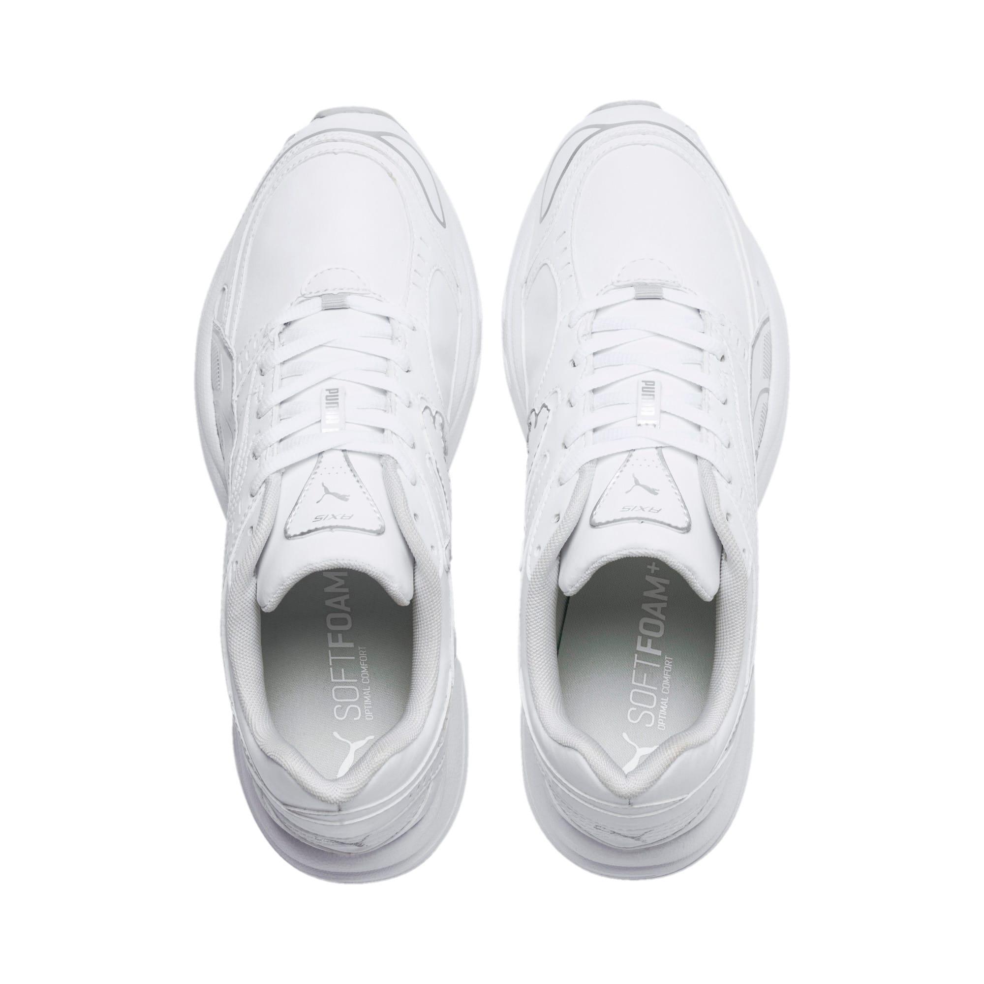 Thumbnail 6 of Axis SL Sneakers, Puma White-Glacier Gray, medium