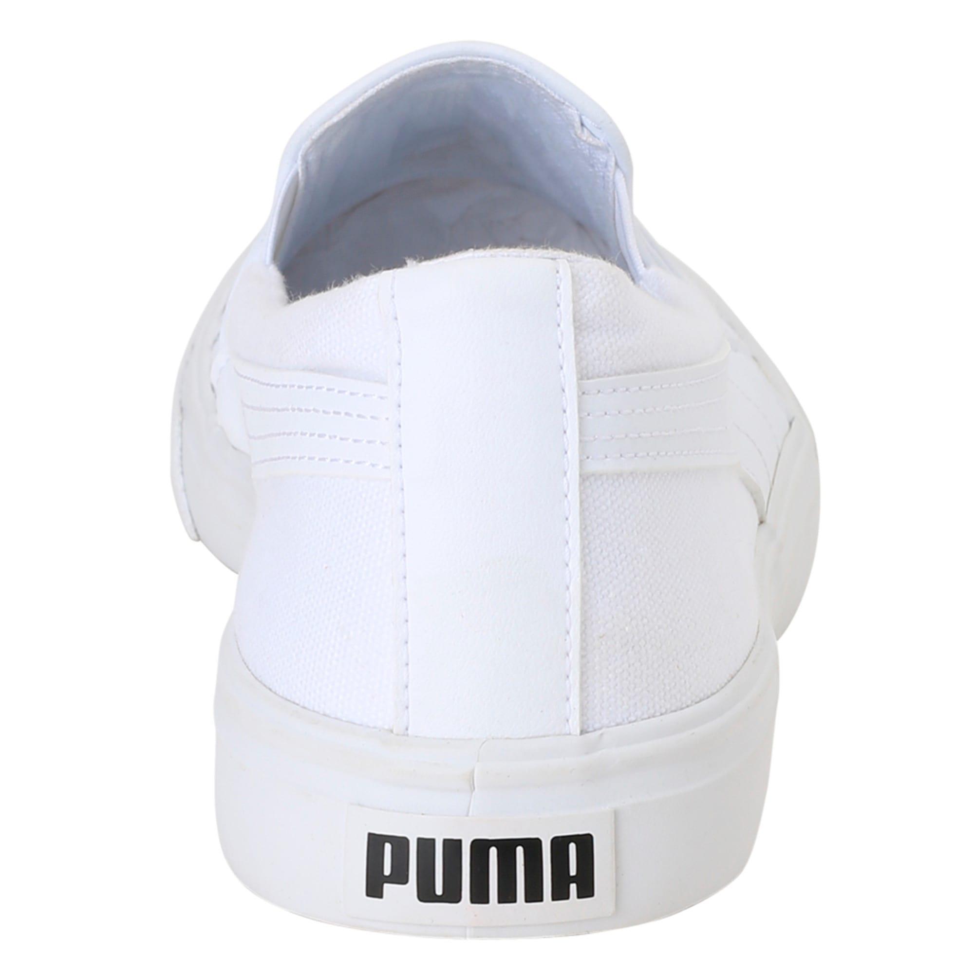 Thumbnail 4 of Puma One8 Slip-on, White-Black-Bleu Azur, medium-IND