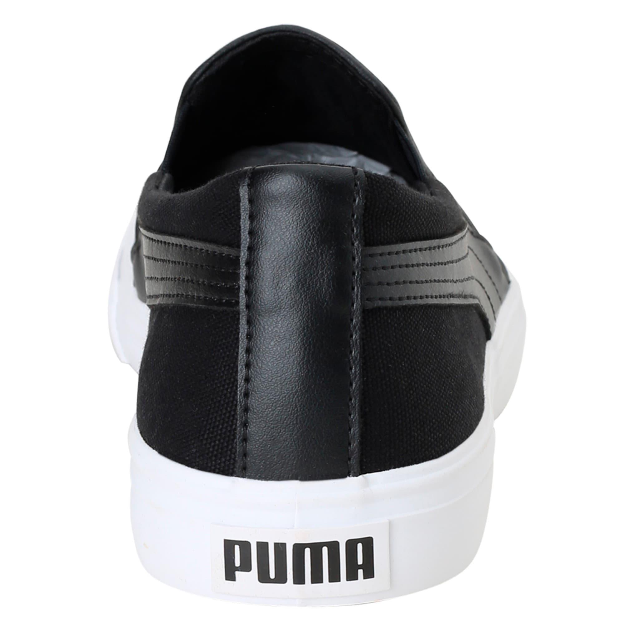 Thumbnail 4 of Puma One8 Slip-on, Black-White-Pomegranate, medium-IND
