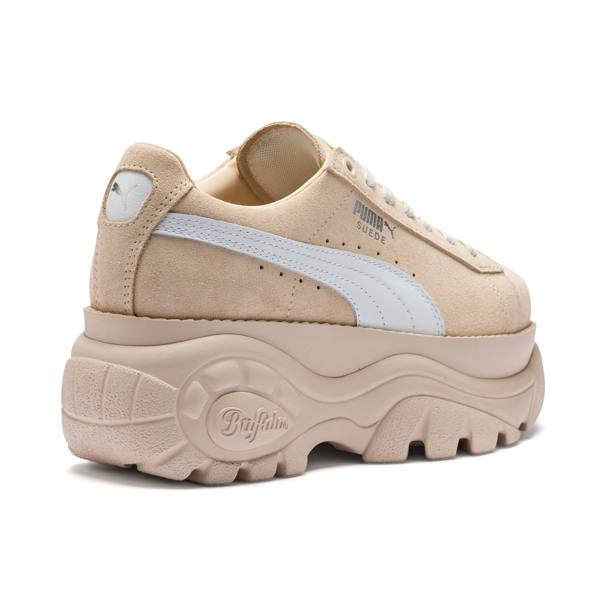 Thumbnail 7 of PUMA x BUFFALO Suede Shoes, Dawn-Puma White, medium