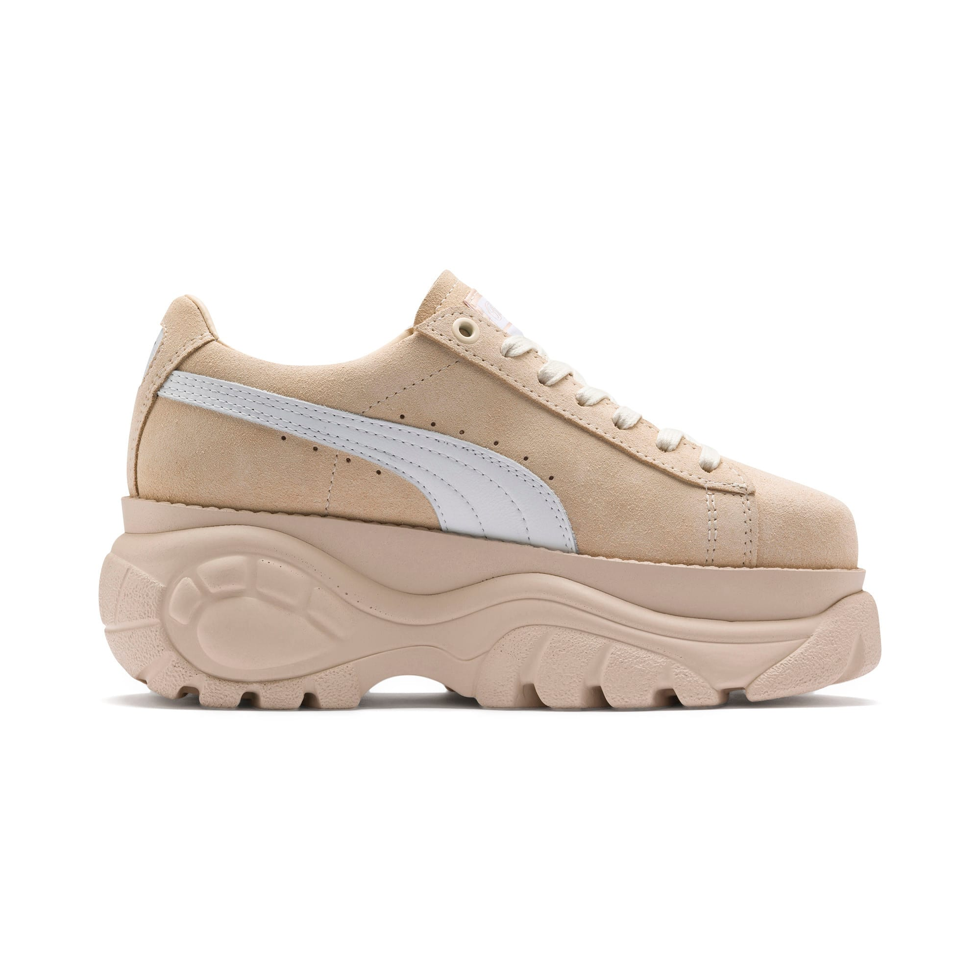 Thumbnail 5 of PUMA x BUFFALO Suede Shoes, Dawn-Puma White, medium