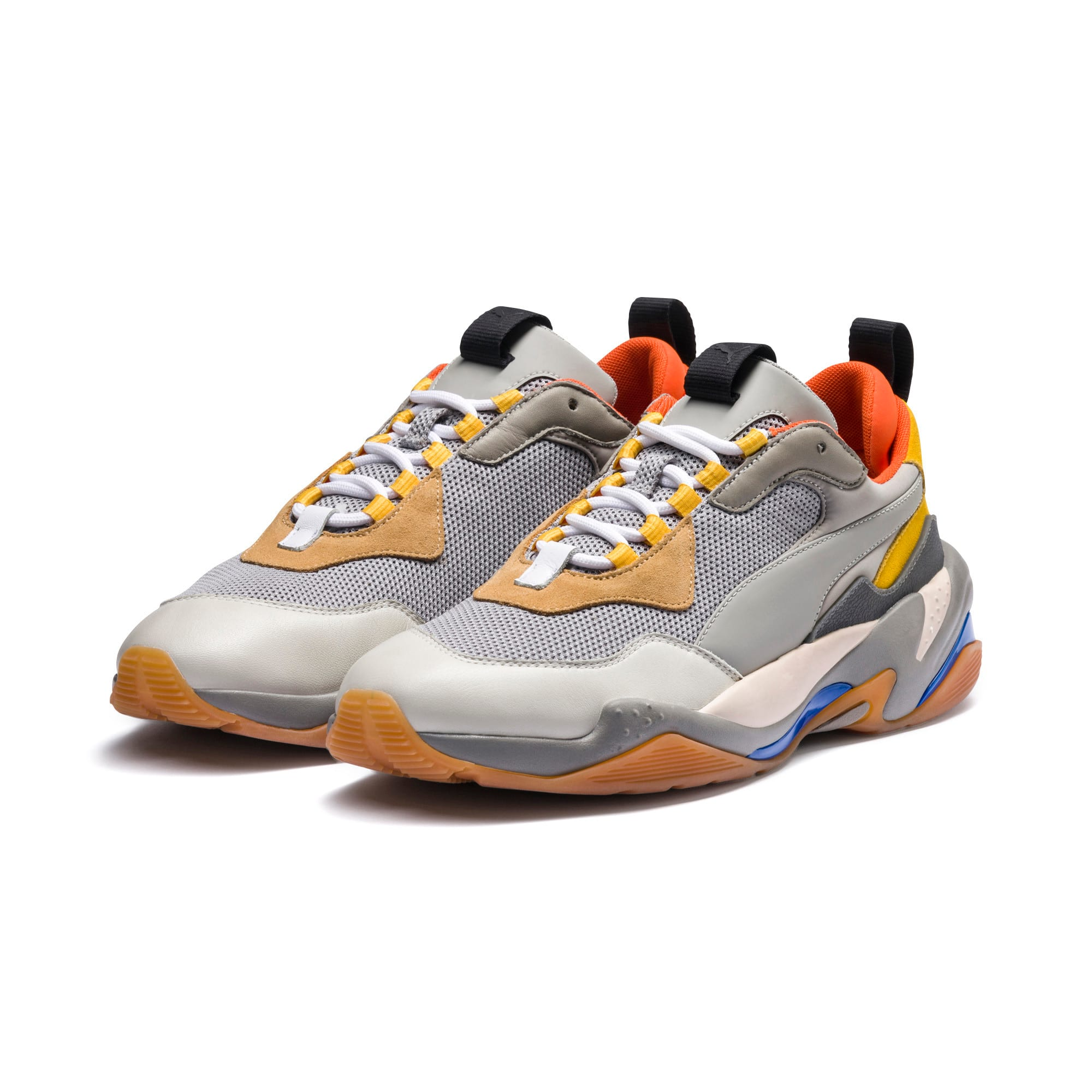 Thumbnail 2 of Thunder Spectra Sneakers JR, Drizzle-Drizzle-Steel Gray, medium