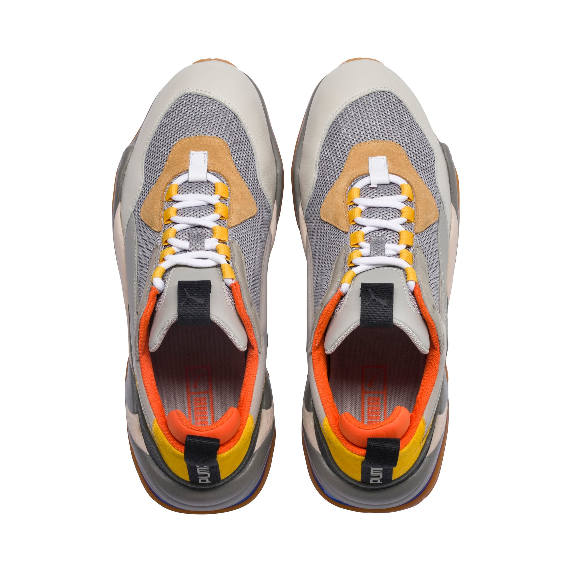 Thumbnail 6 of Thunder Spectra Sneakers JR, Drizzle-Drizzle-Steel Gray, medium