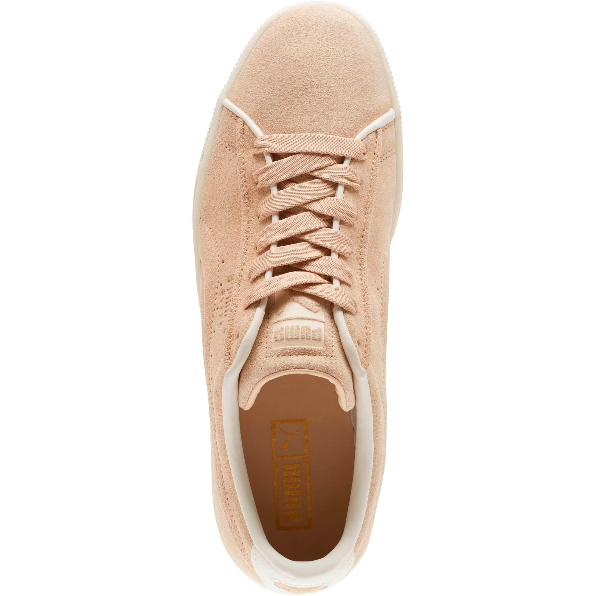 Thumbnail 5 of Suede Classic Raised Formstrip Sneakers, Natural Vachetta-Whisper w, medium