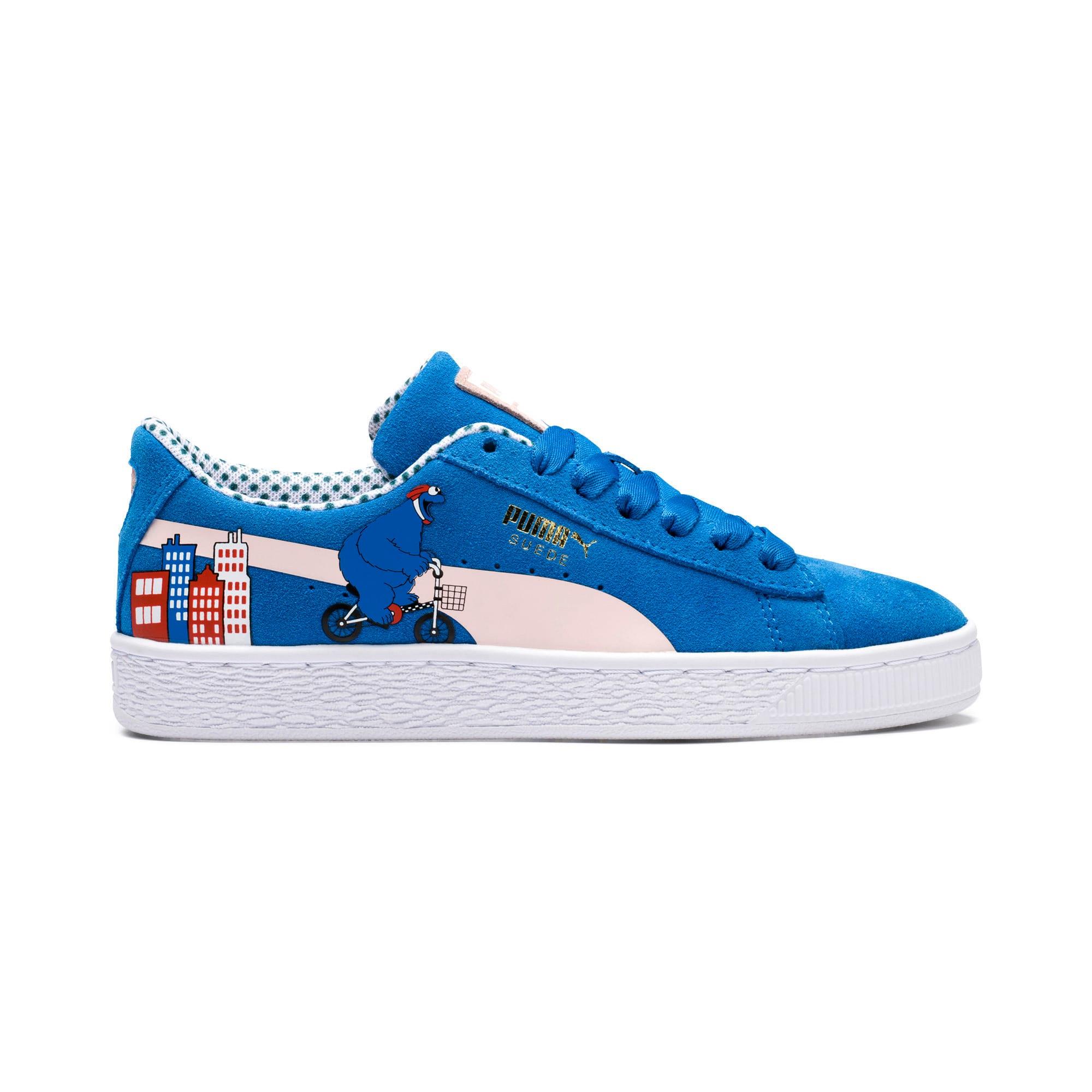 Miniatura 8 de Zapatos deportivosSesame Street 50 Suede para junior, Indigo Bunting-Veiled Rose, mediano