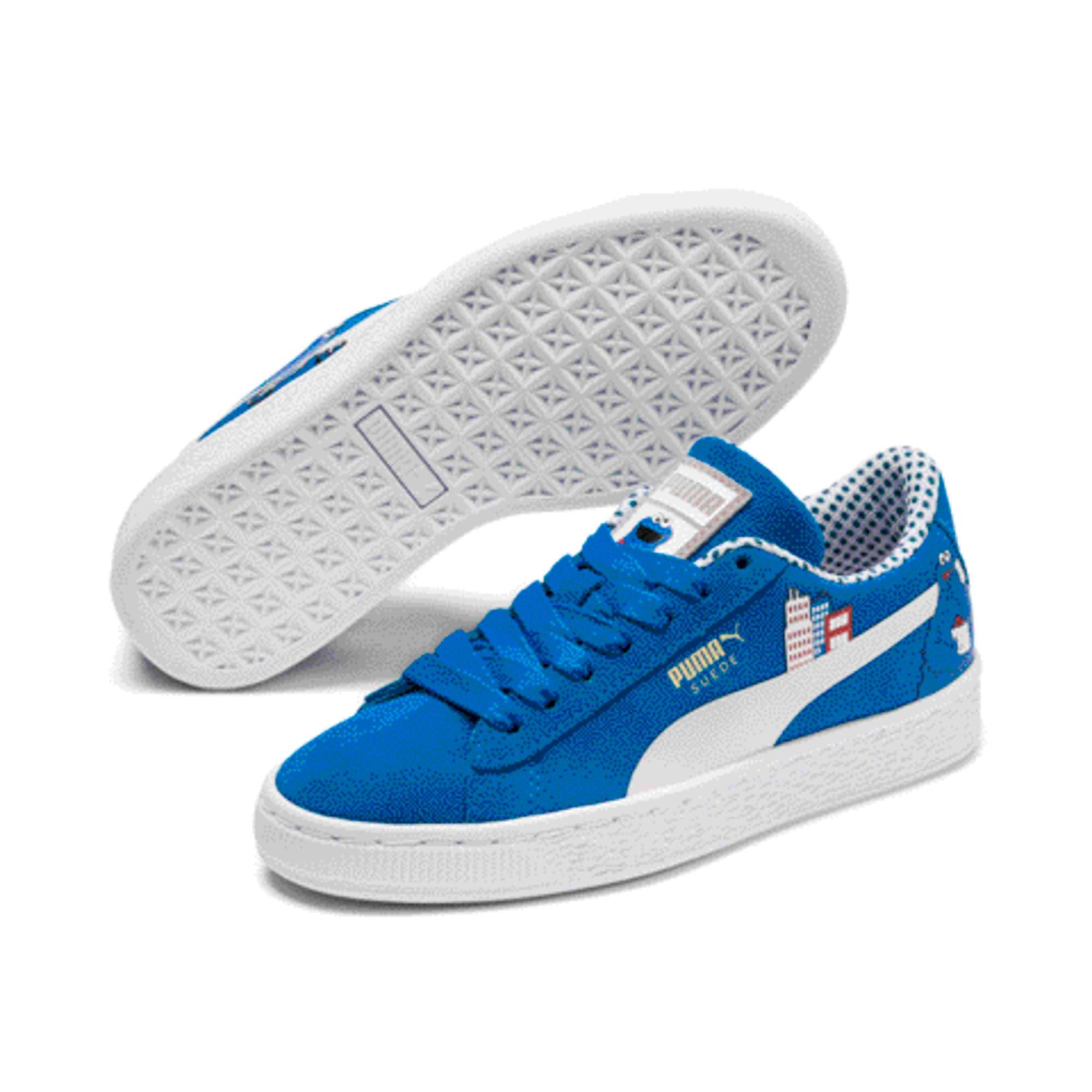 Miniatura 2 de Zapatos deportivosSesame Street 50 Suede para junior, Indigo Bunting-Veiled Rose, mediano