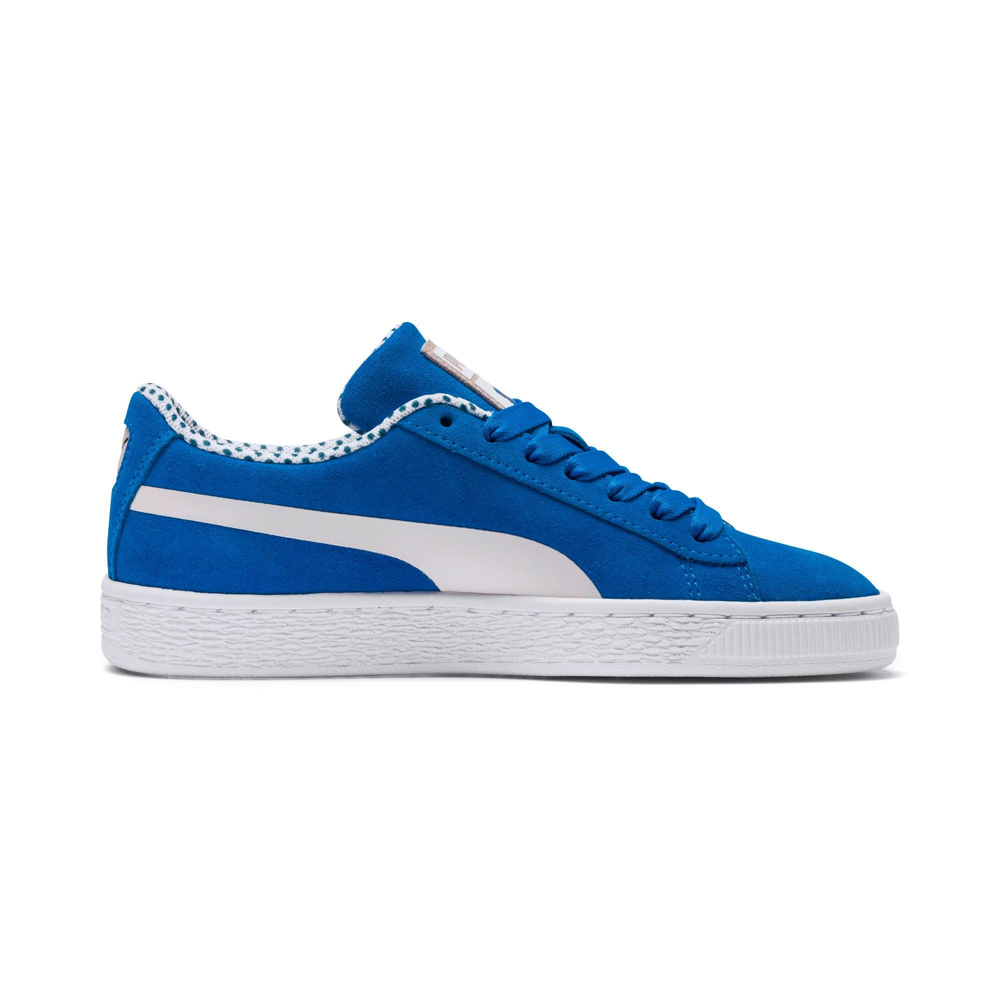 Miniatura 5 de Zapatos deportivosSesame Street 50 Suede para junior, Indigo Bunting-Veiled Rose, mediano