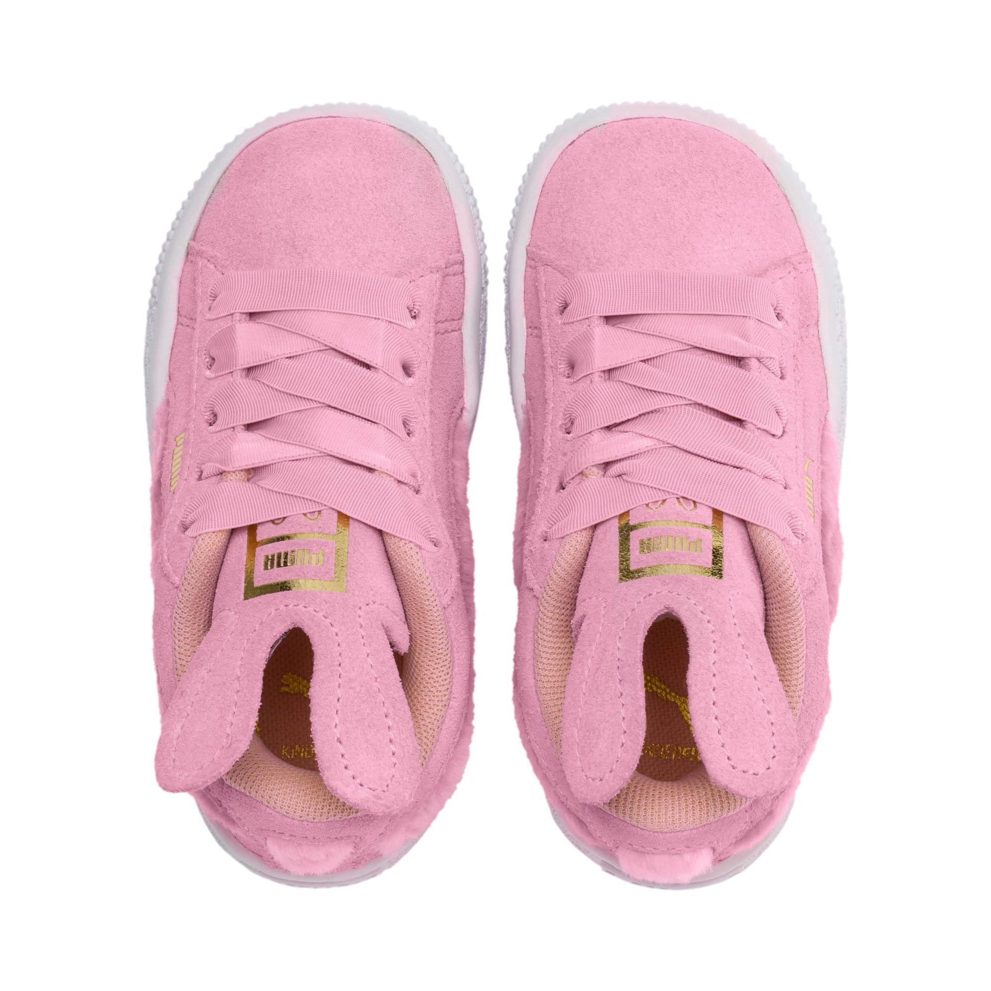 Miniatura 6 de Zapatos Suede Easter AC para niños, Pale Pink-Coral Cloud, mediano