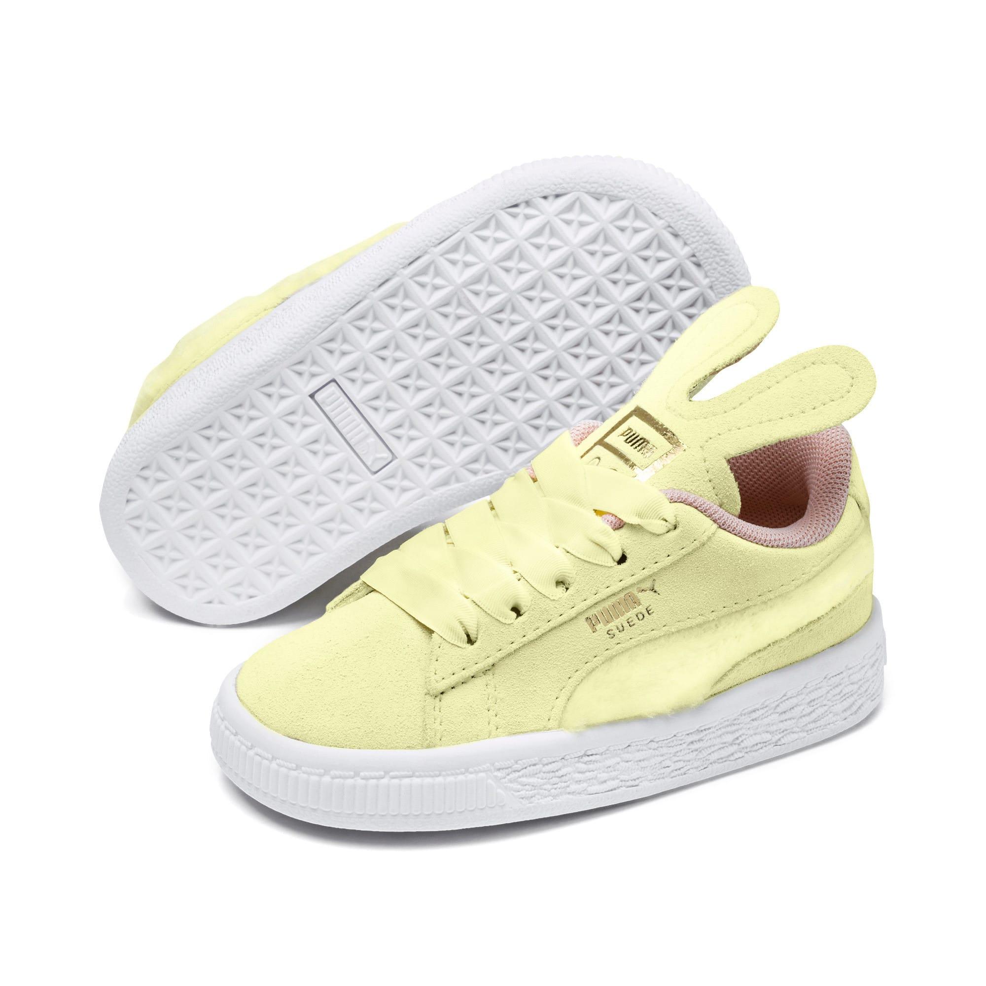 Miniatura 2 de Zapatos Suede Easter AC para bebé, YELLOW-Coral Cloud-Gold, mediano