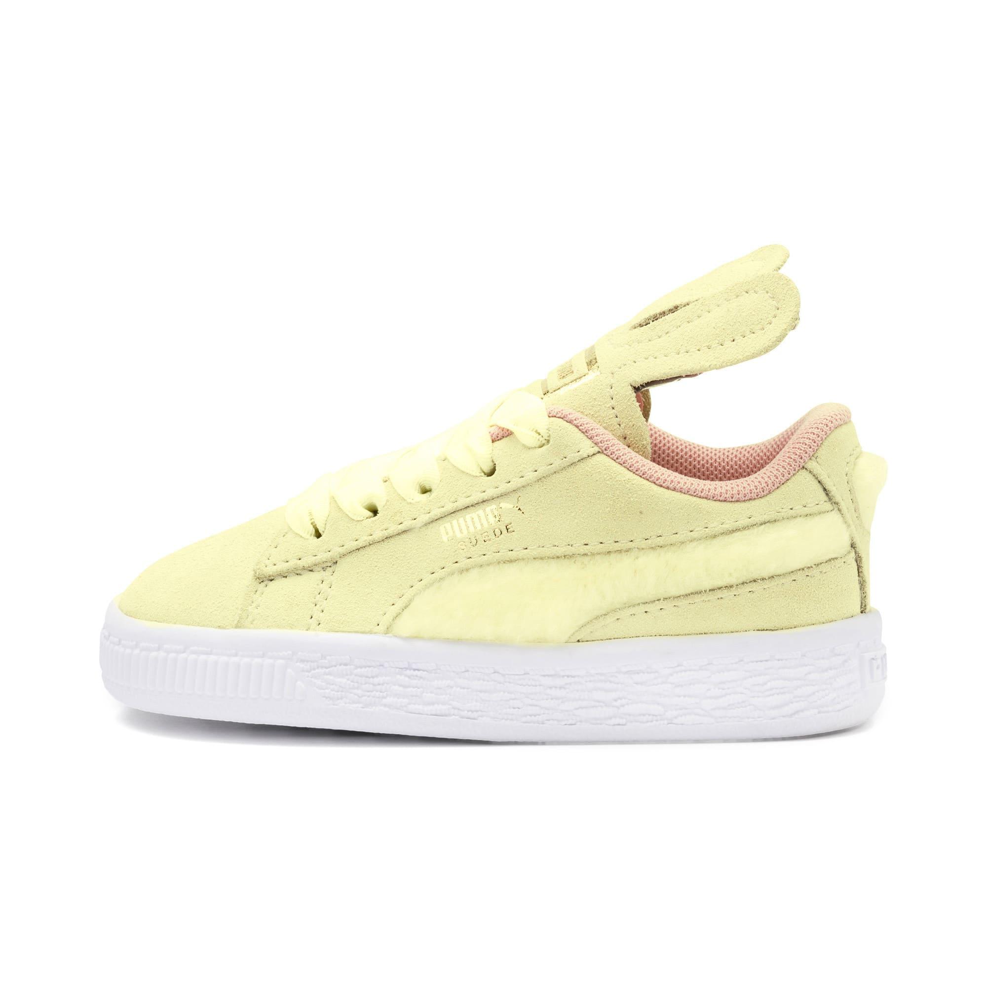 Miniatura 1 de Zapatos Suede Easter AC para bebé, YELLOW-Coral Cloud-Gold, mediano