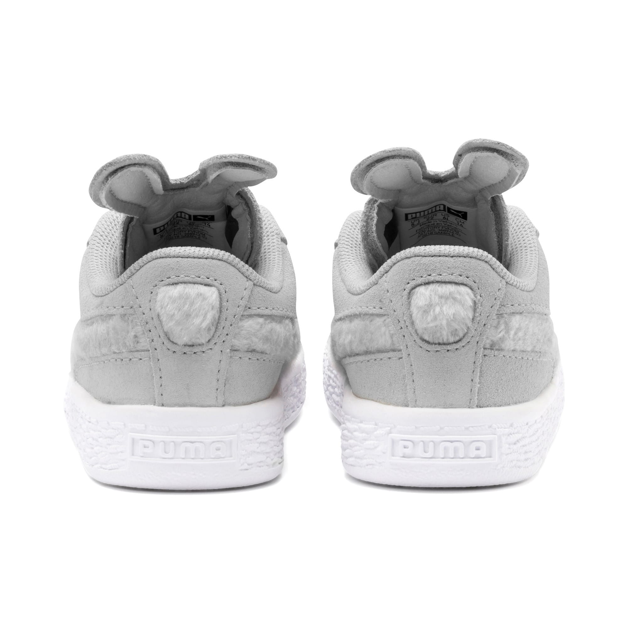 Thumbnail 3 of Suede Easter AC Toddler Shoes, Glacier Gray-Coral Cloud, medium
