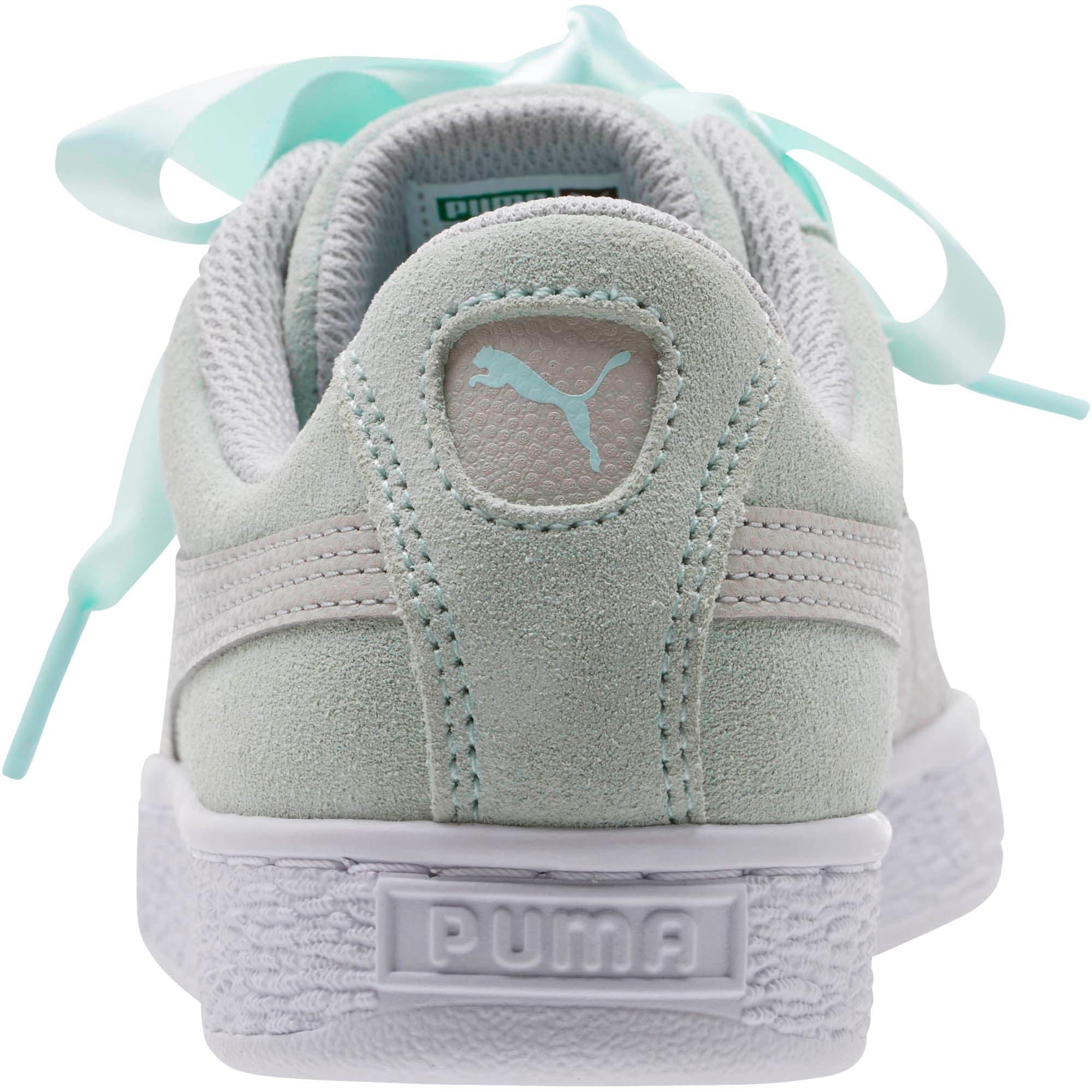 Miniatura 4 de Zapatos deportivos SuedeHeart Radicals JR, Fair Aqua-Gray Violet, mediano