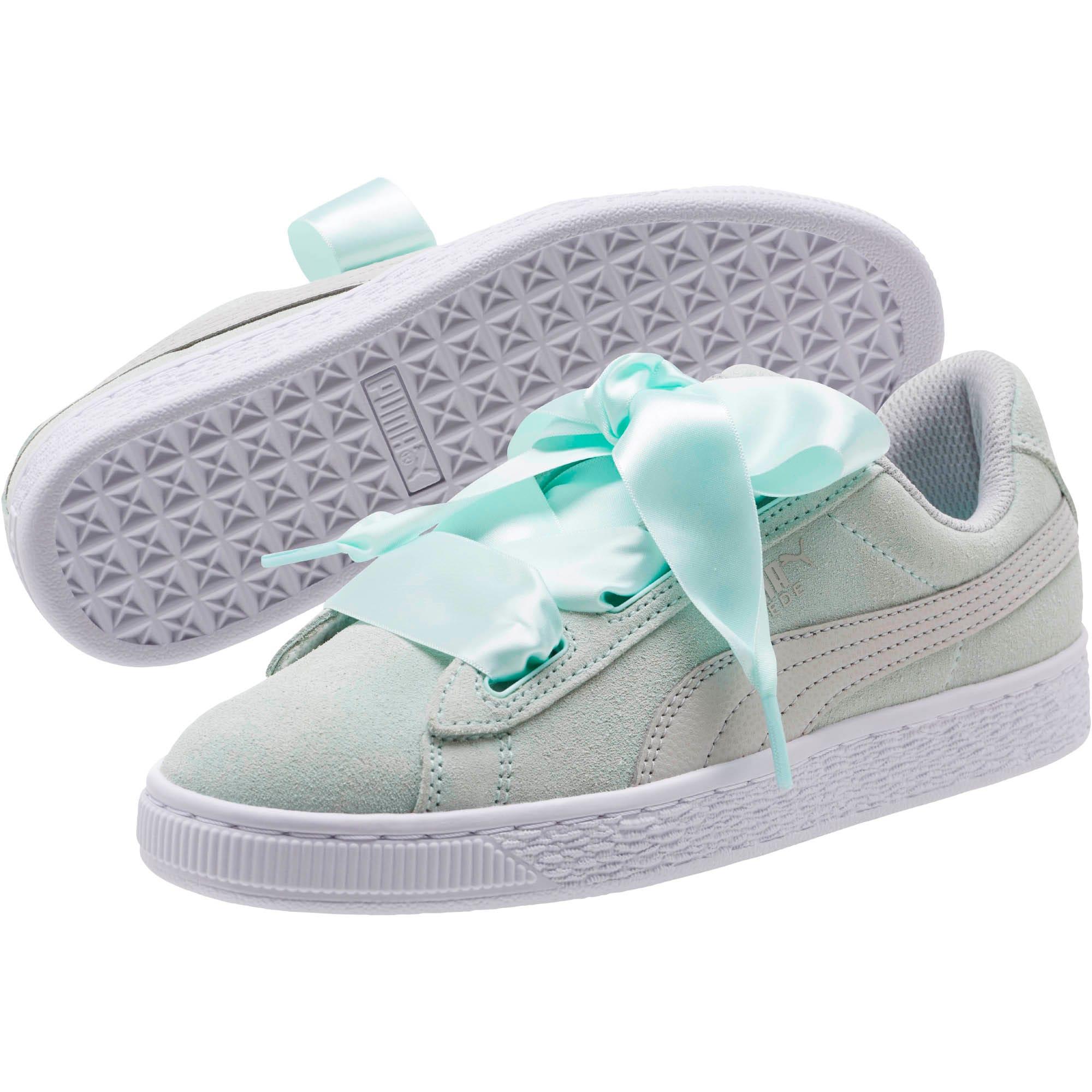 Miniatura 2 de Zapatos deportivos SuedeHeart Radicals JR, Fair Aqua-Gray Violet, mediano