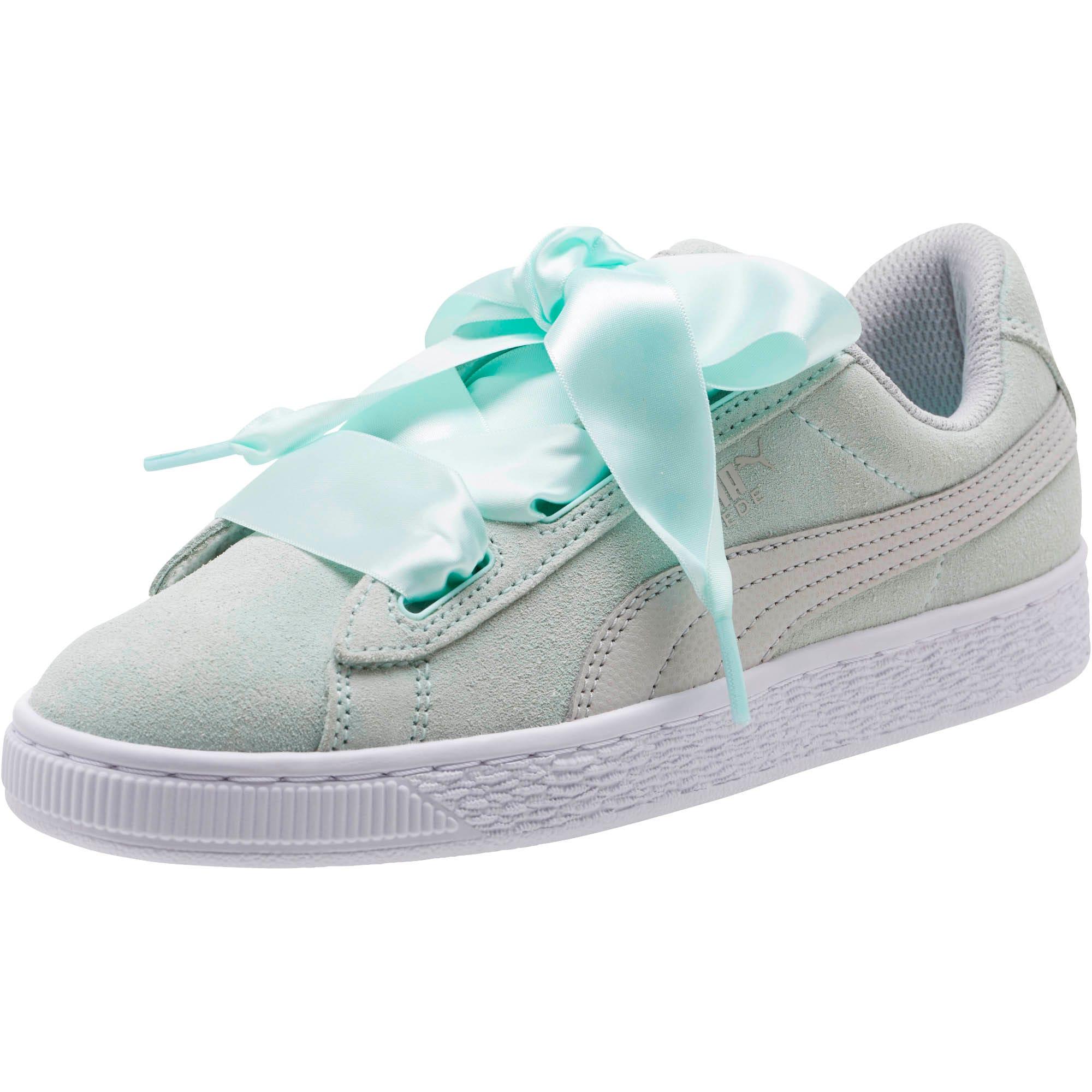 Miniatura 1 de Zapatos deportivos SuedeHeart Radicals JR, Fair Aqua-Gray Violet, mediano