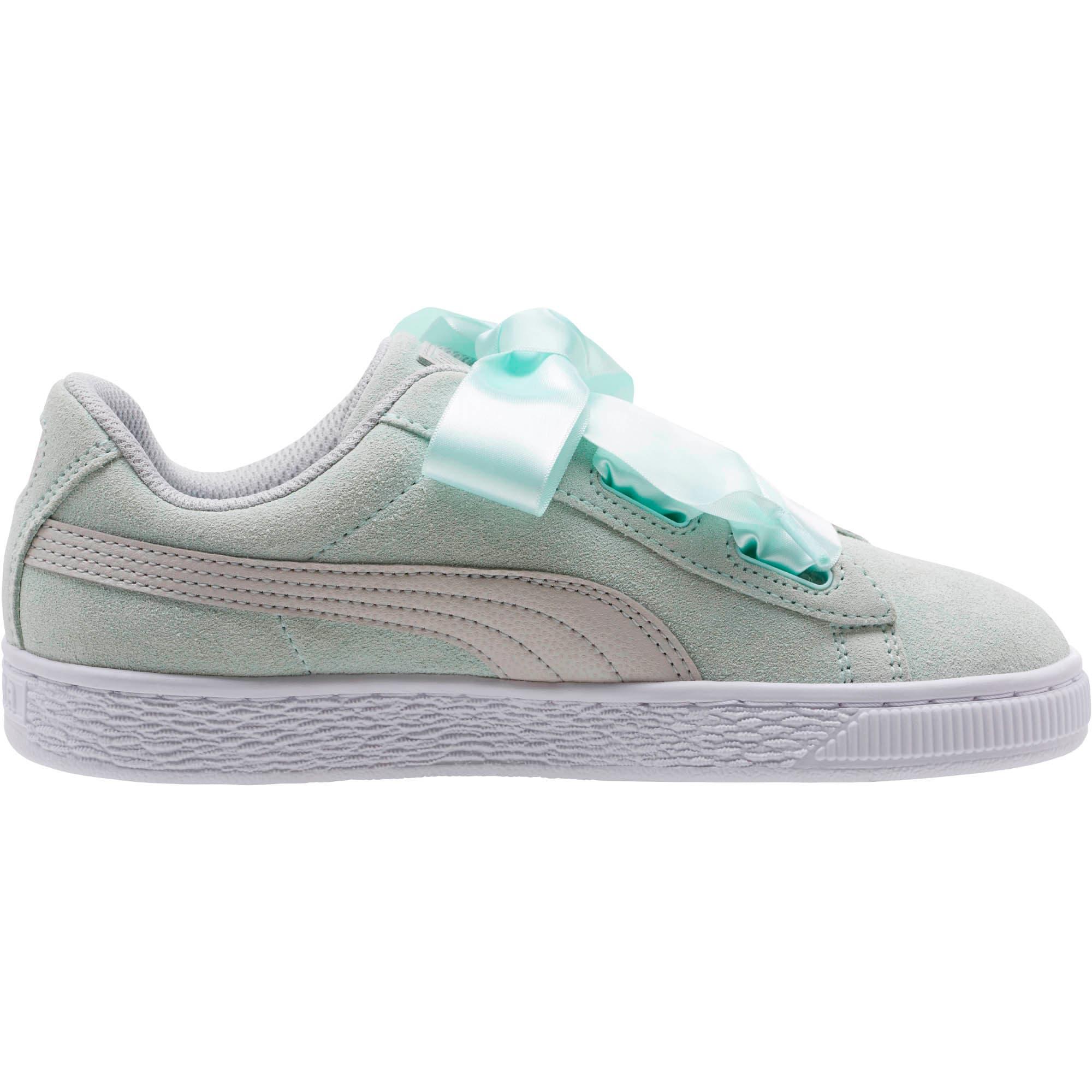 Miniatura 3 de Zapatos deportivos SuedeHeart Radicals JR, Fair Aqua-Gray Violet, mediano