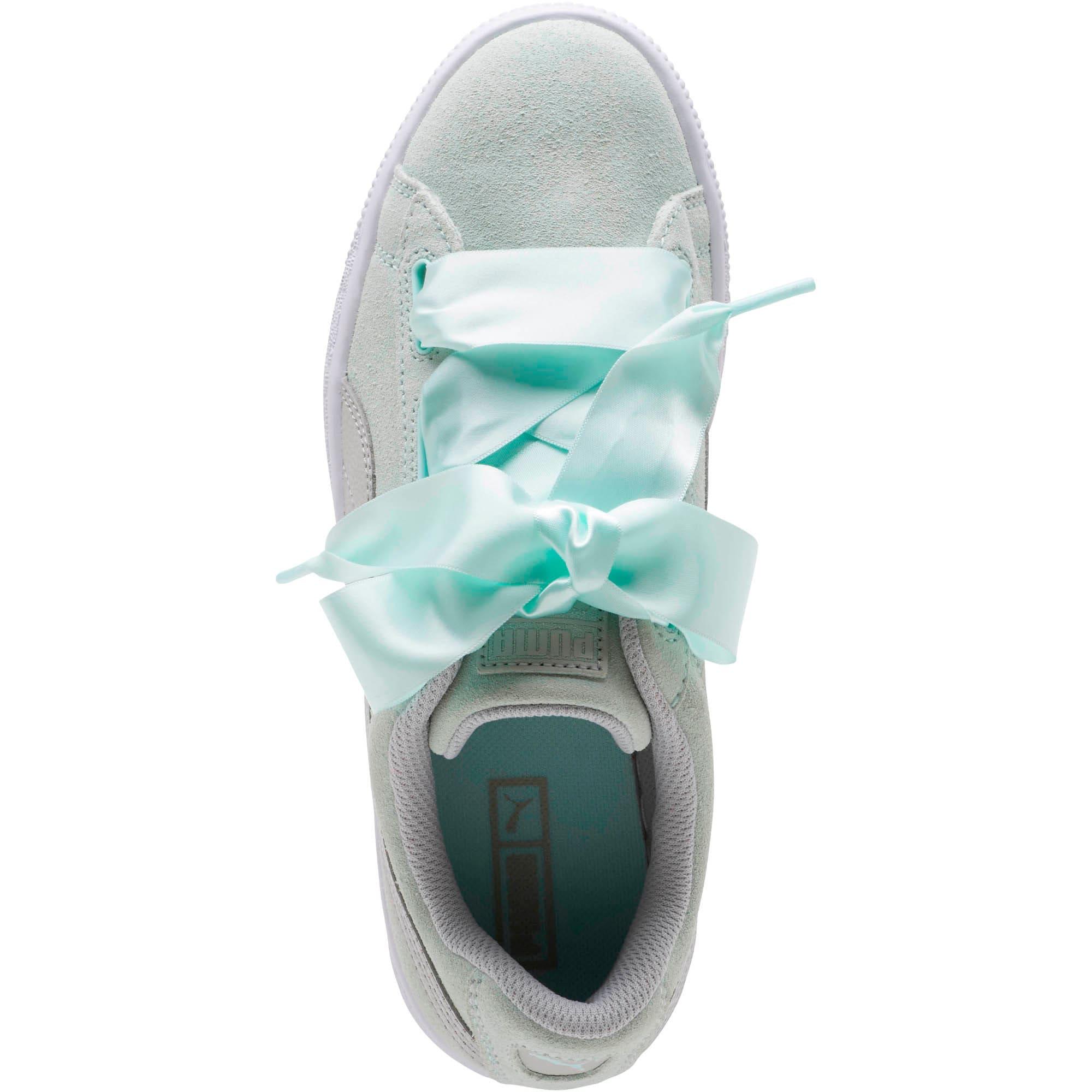 Miniatura 5 de Zapatos deportivos SuedeHeart Radicals JR, Fair Aqua-Gray Violet, mediano