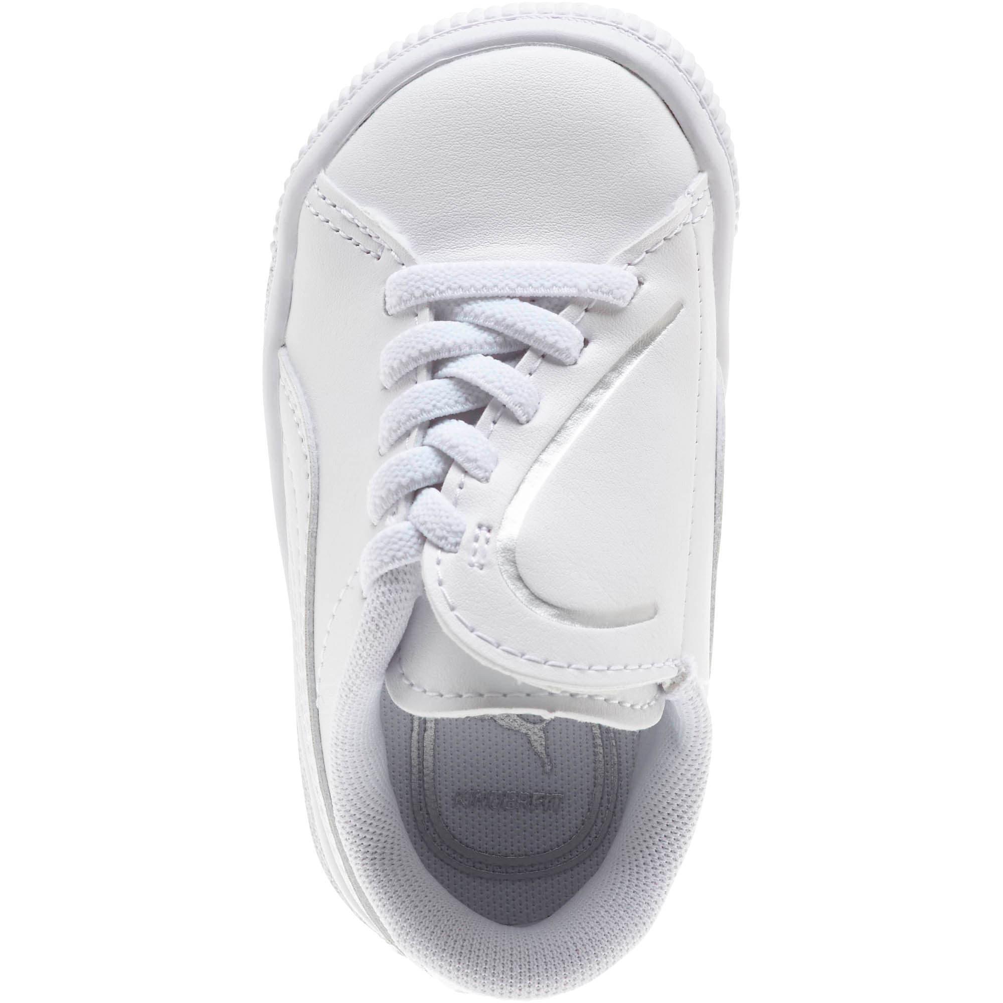 Miniatura 5 de Zapatos Basket Crush AC para bebés, Puma White-Puma Silver, mediano