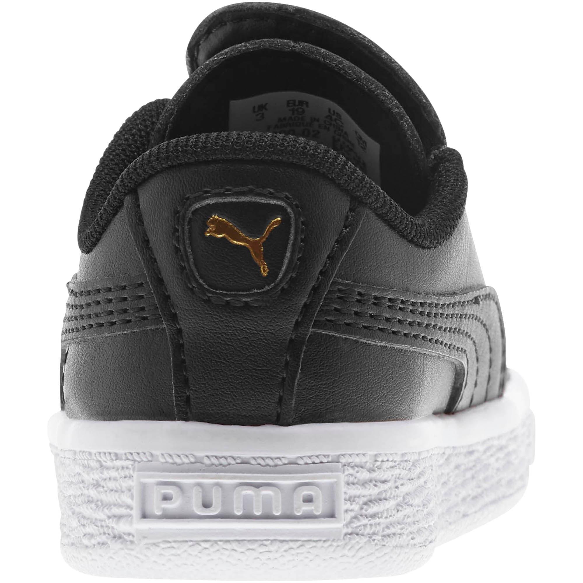 Miniatura 3 de Zapatos Basket Crush AC para bebés, Puma Black-Puma Team Gold, mediano