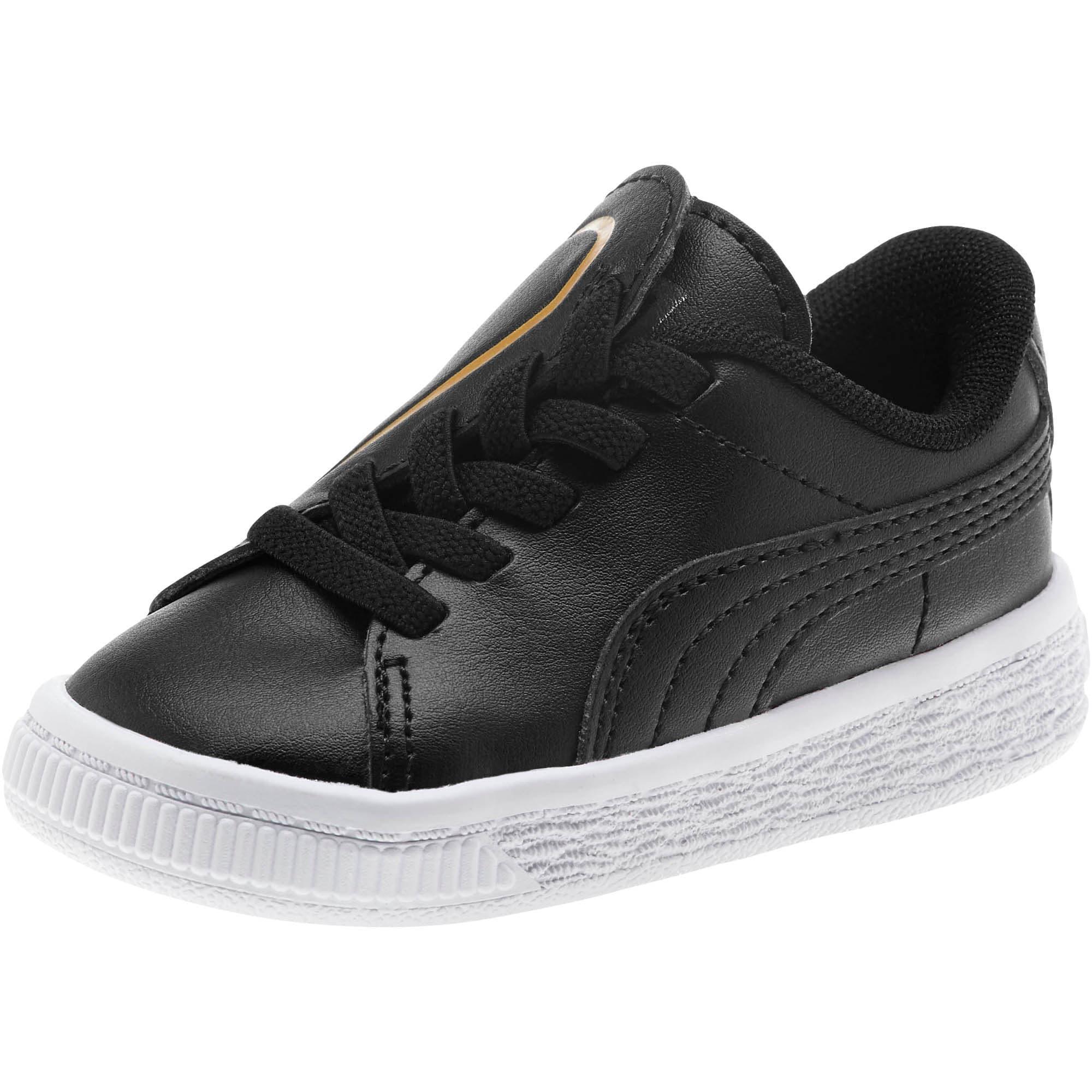 Miniatura 1 de Zapatos Basket Crush AC para bebés, Puma Black-Puma Team Gold, mediano