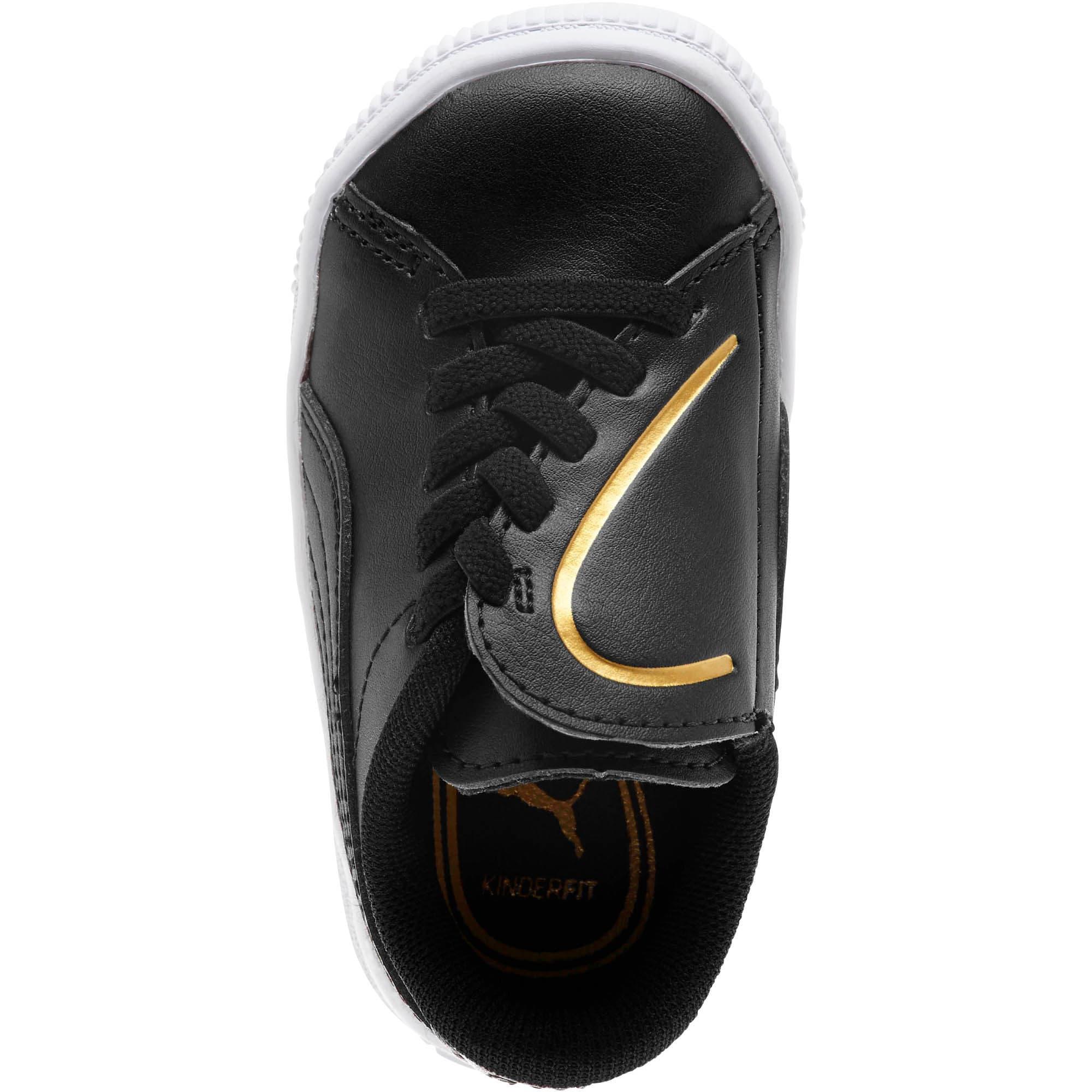 Miniatura 5 de Zapatos Basket Crush AC para bebés, Puma Black-Puma Team Gold, mediano