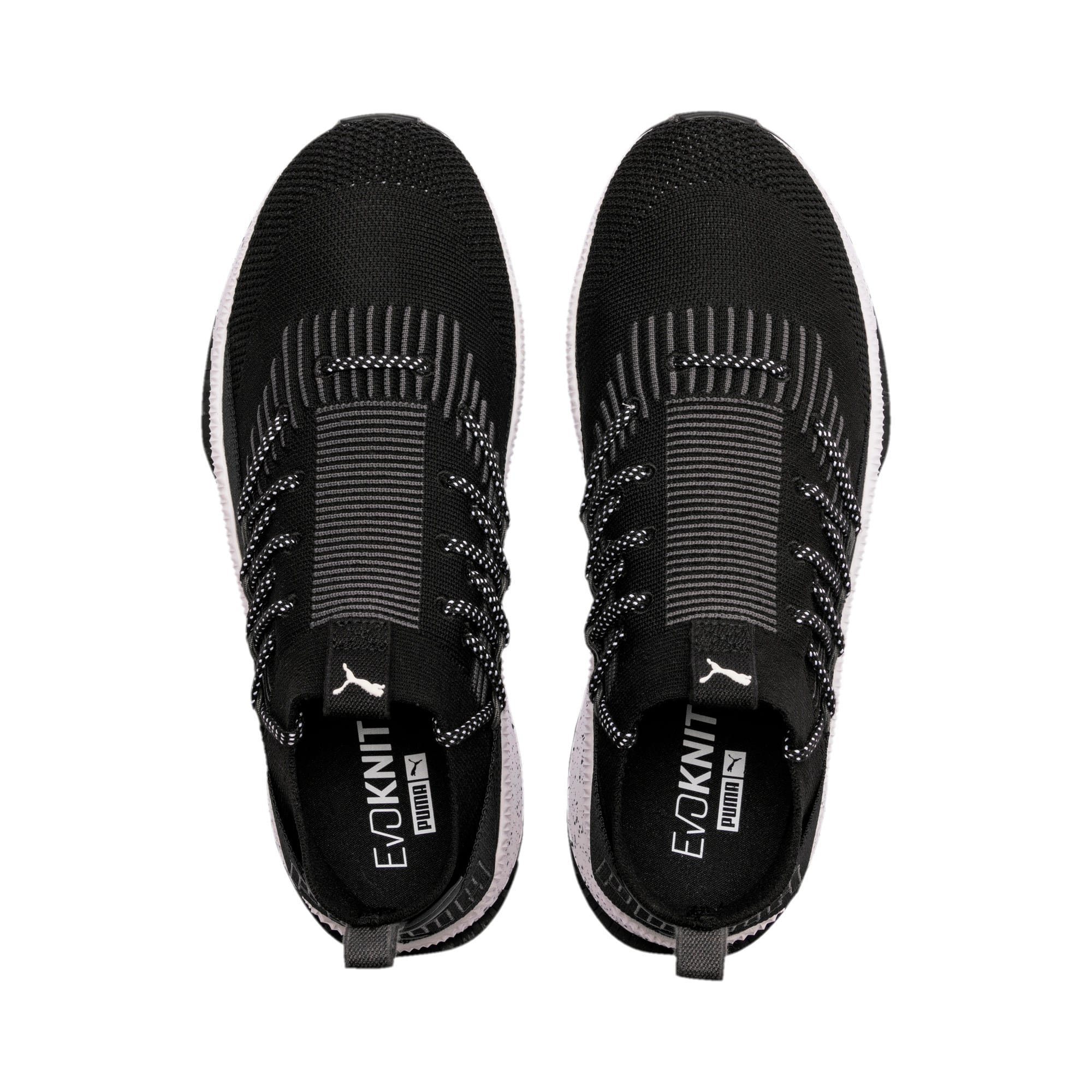 Thumbnail 6 of Tsugi Kai Jun Speckle evoKNIT Trainers, Puma Black-Asphalt, medium