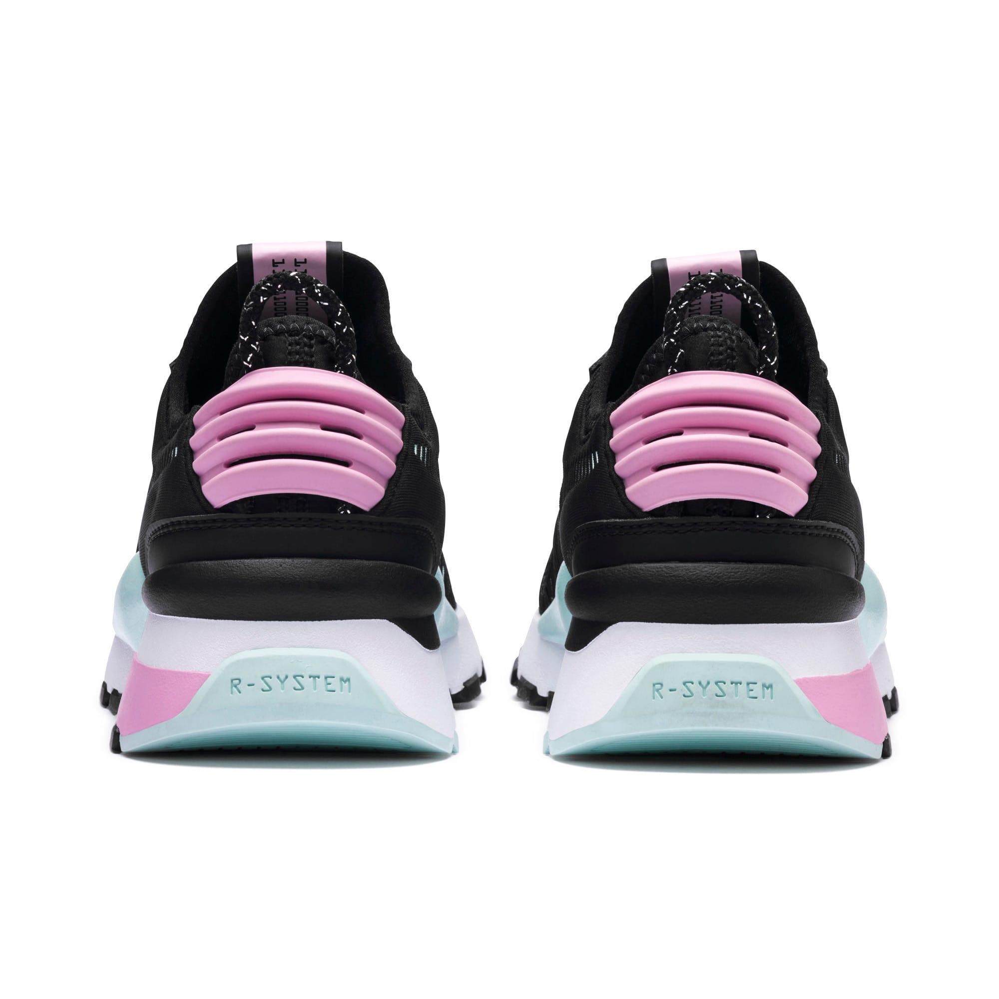 Thumbnail 4 of RS-0 Winter Inj Toys Sneakers JR, Puma Black-Pale Pink, medium
