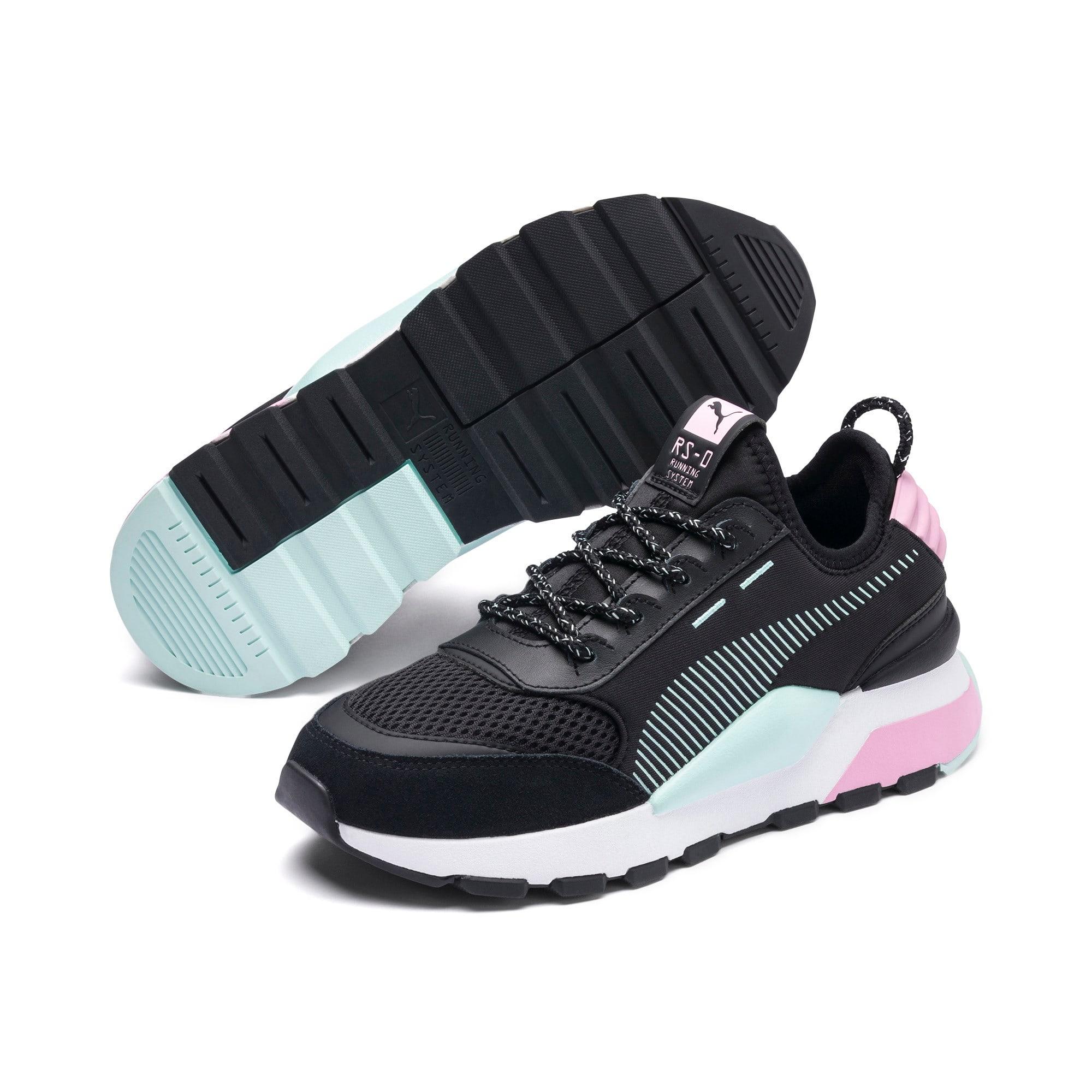 Thumbnail 2 of RS-0 Winter Inj Toys Sneakers JR, Puma Black-Pale Pink, medium