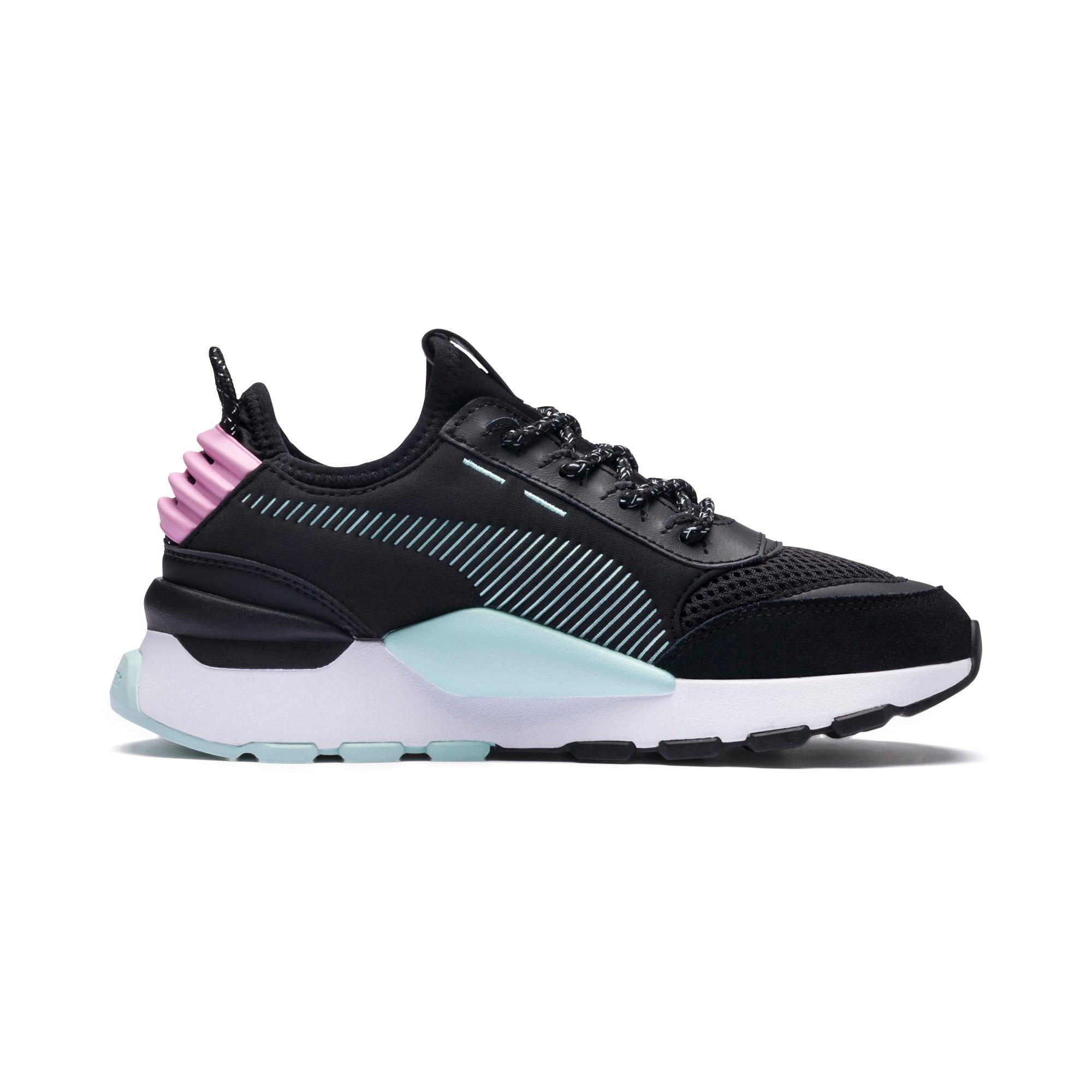 Thumbnail 5 of RS-0 Winter Inj Toys Sneakers JR, Puma Black-Pale Pink, medium