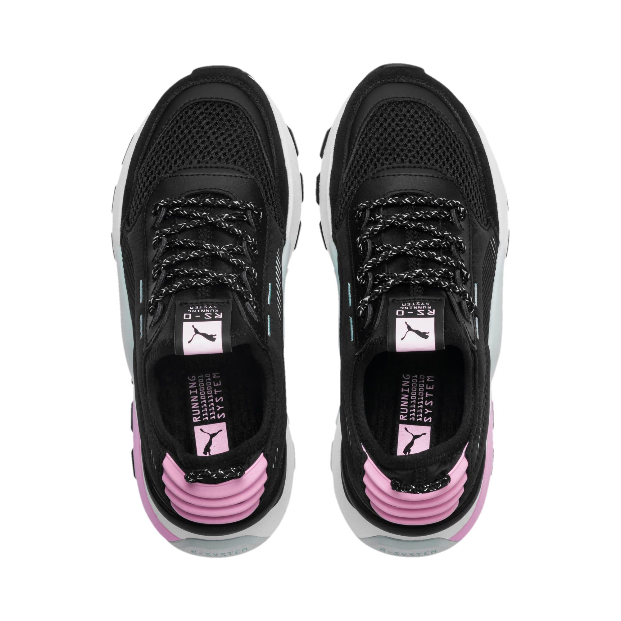 Thumbnail 6 of RS-0 Winter Inj Toys Sneakers JR, Puma Black-Pale Pink, medium