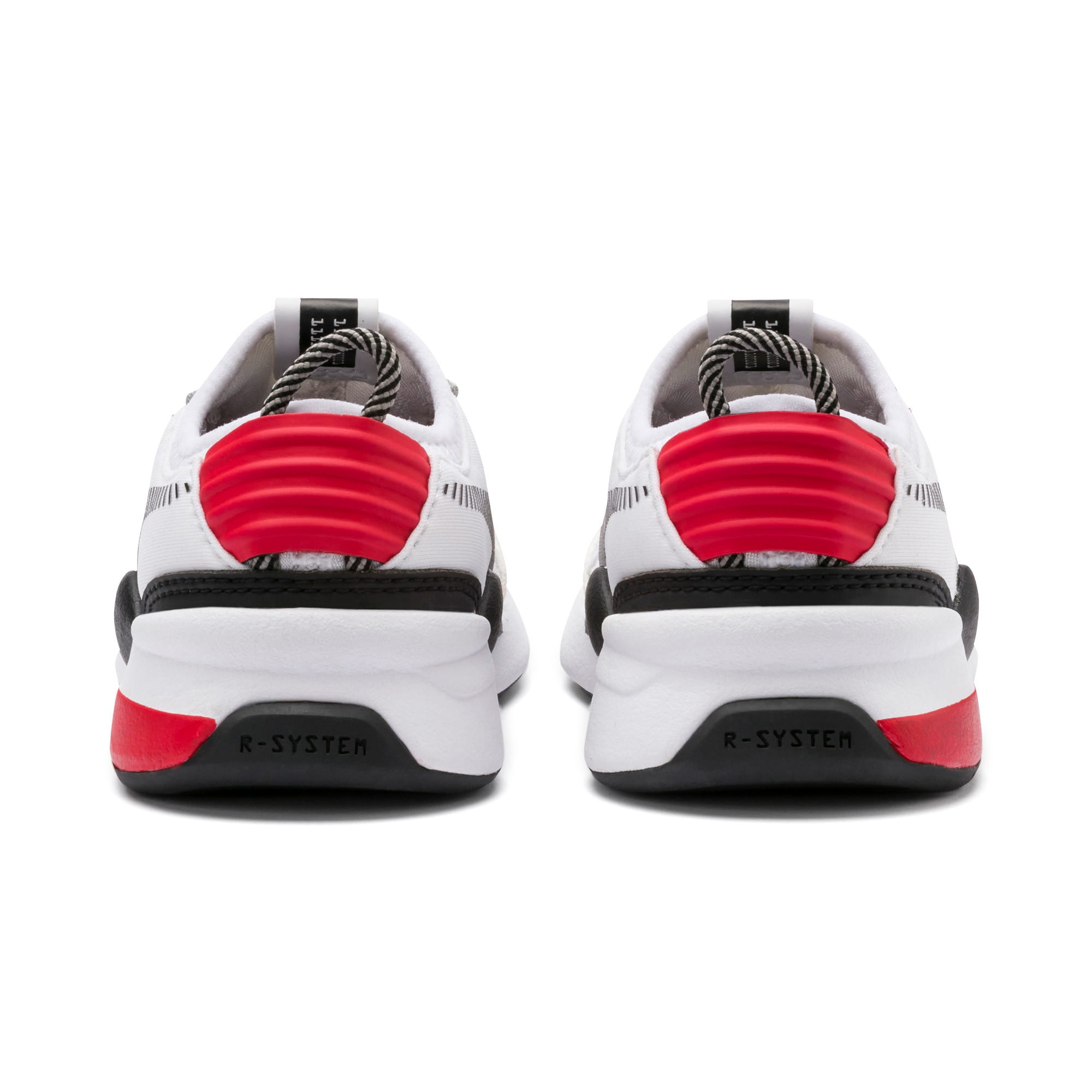 Thumbnail 3 of RS-0 Winter Inj Toys INF Shoes, Puma White-High Risk Red, medium