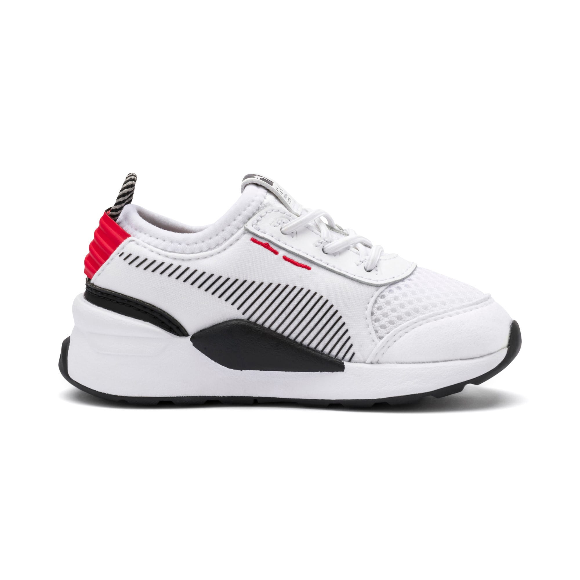 Thumbnail 5 of RS-0 Winter Inj Toys INF Shoes, Puma White-High Risk Red, medium