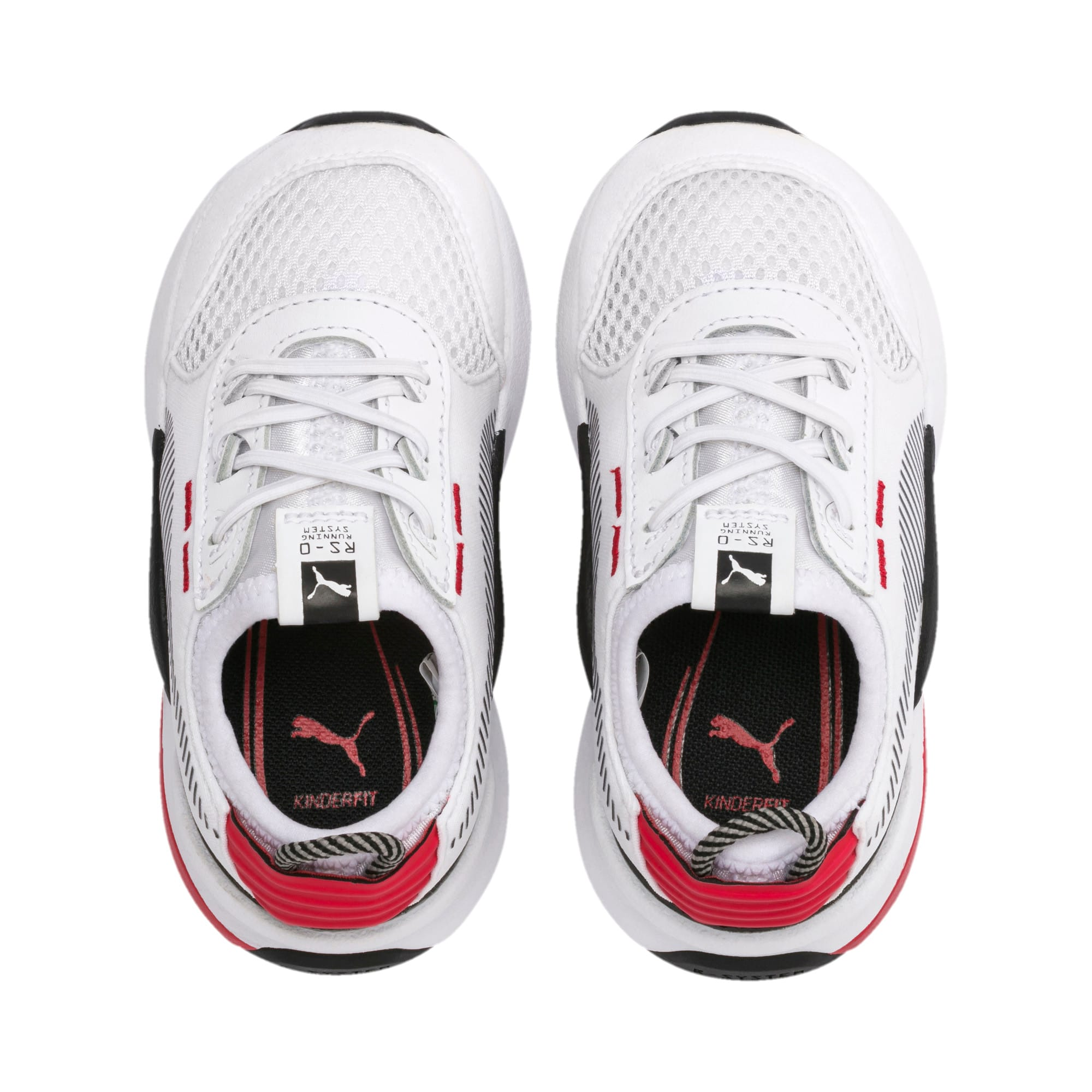 Thumbnail 6 of RS-0 Winter Inj Toys INF Shoes, Puma White-High Risk Red, medium
