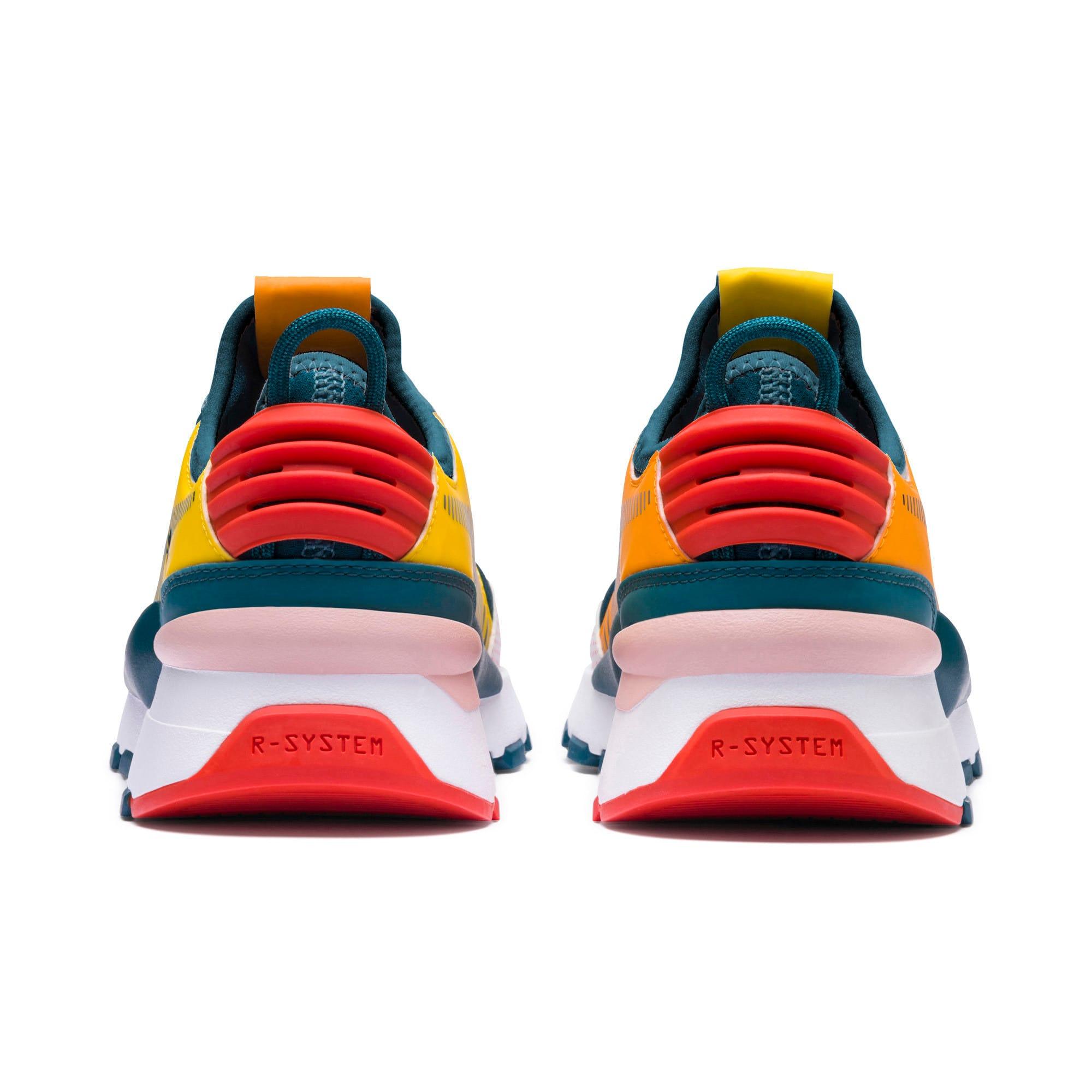 Thumbnail 3 of Sesame Street 50 RS-0 Sneakers JR, Rose-Blue Coral-Dandelion, medium