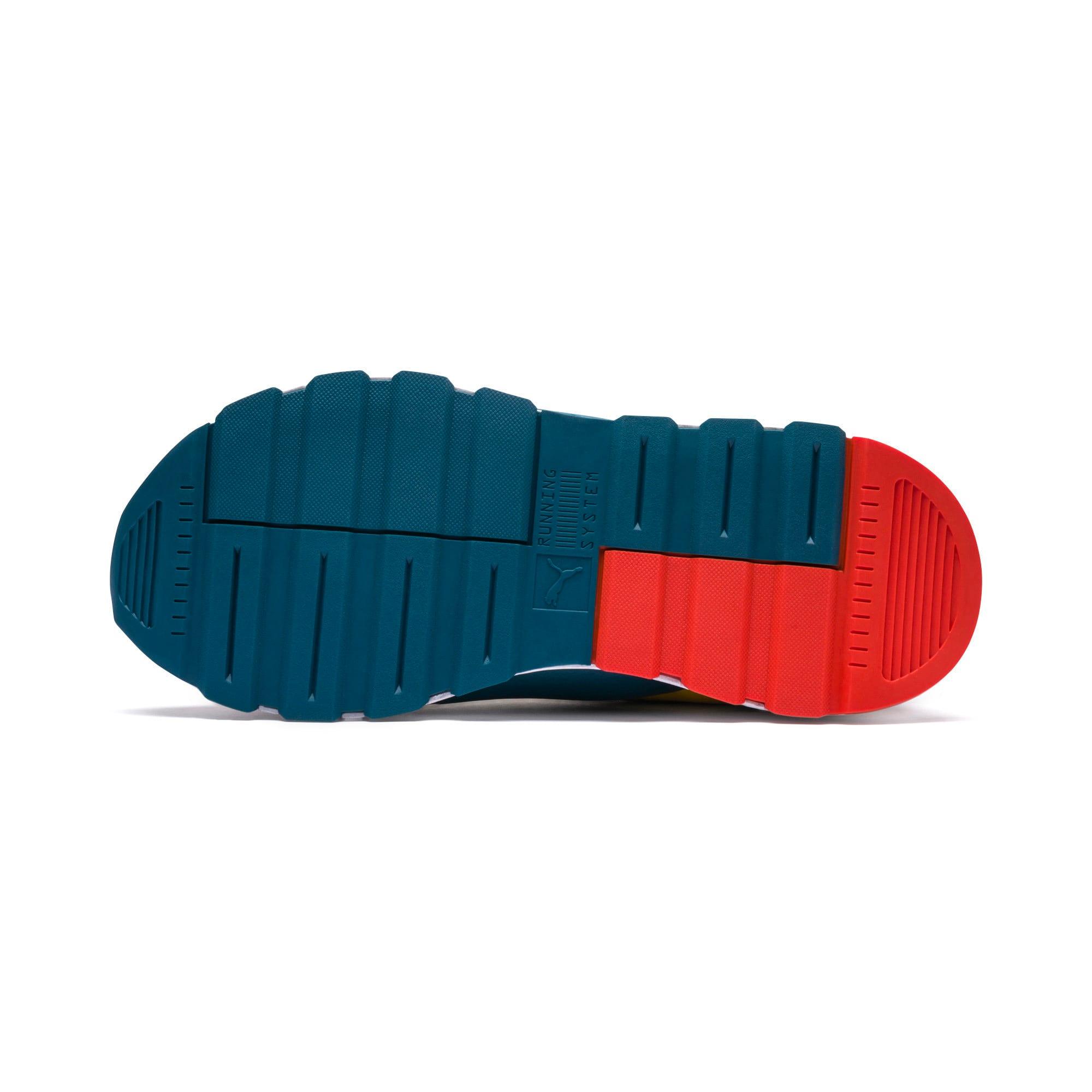 Thumbnail 4 of Sesame Street 50 RS-0 Sneakers JR, Rose-Blue Coral-Dandelion, medium