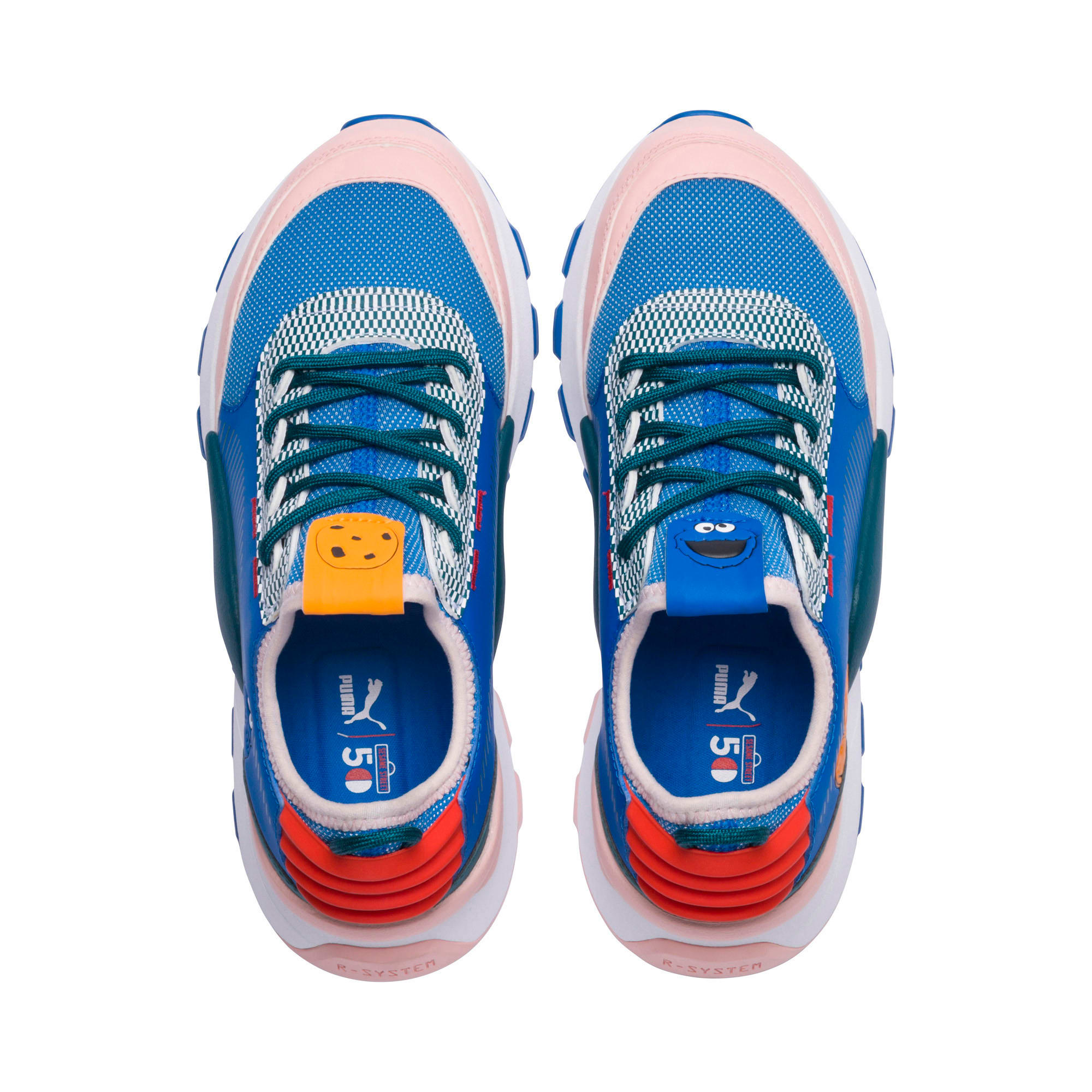 Thumbnail 6 of Sesame Street RS-0 Kids' Trainers, Veiled Rose-Indigo-BlueCoral, medium