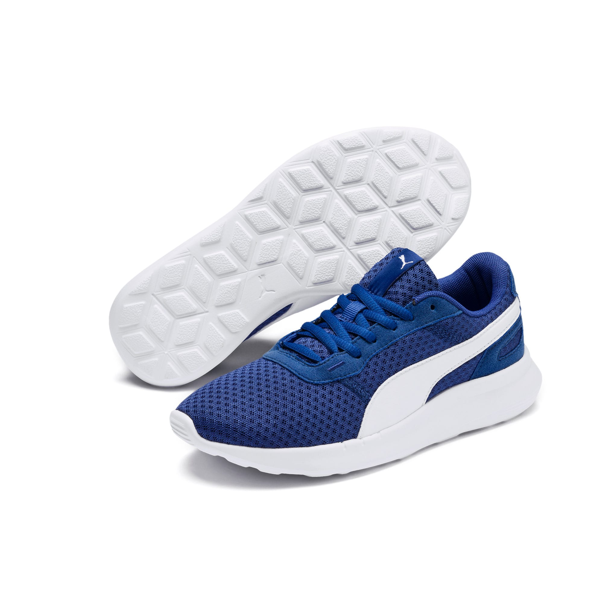 Thumbnail 2 of ST Activate Sneakers JR, Galaxy Blue-Puma White, medium