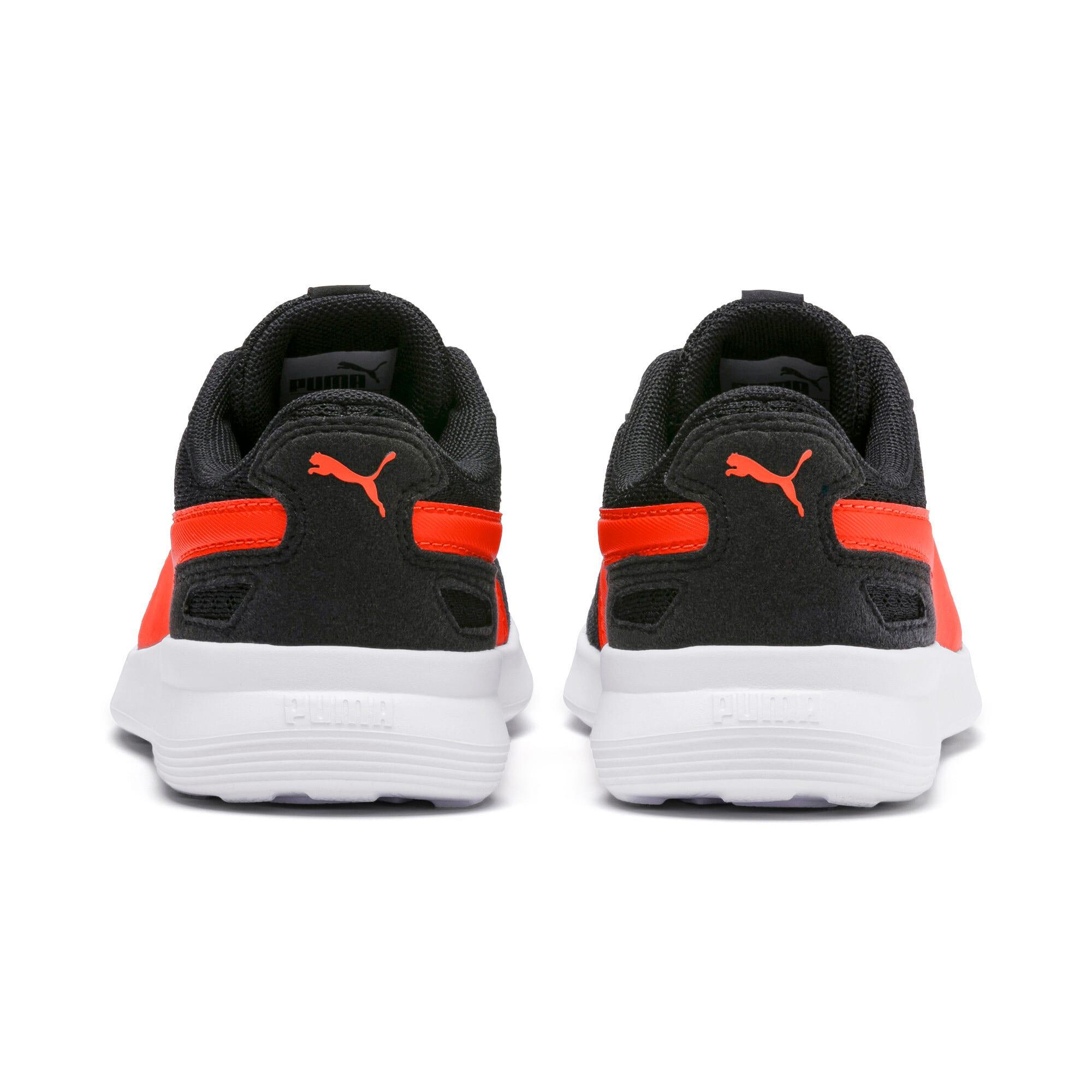 Thumbnail 4 of ST Activate Sneakers PS, Puma Black-Cherry Tomato, medium