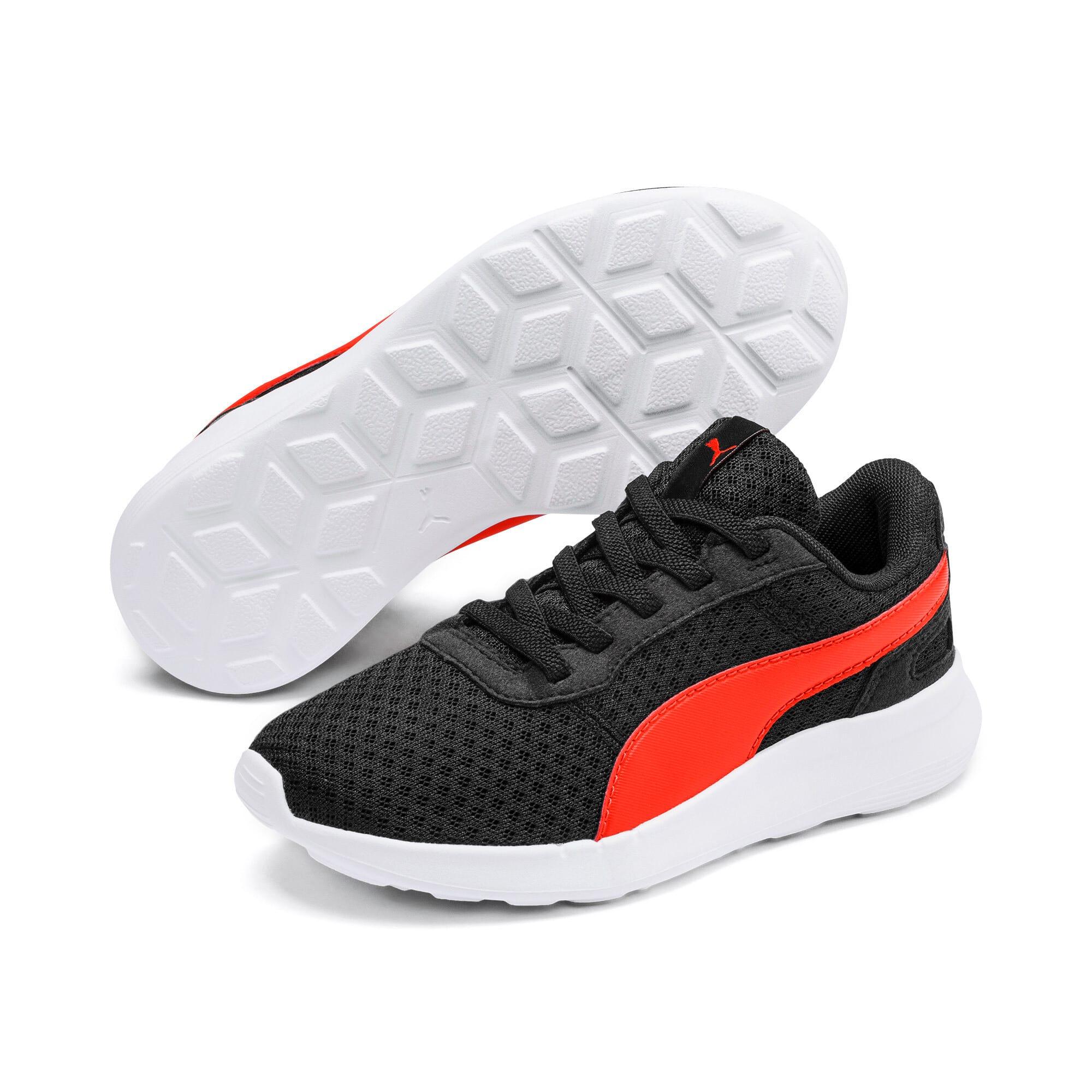 Thumbnail 2 of ST Activate Sneakers PS, Puma Black-Cherry Tomato, medium