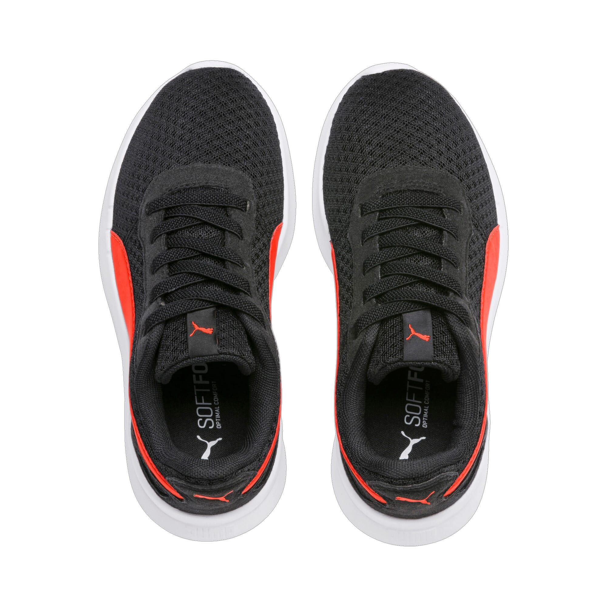 Thumbnail 6 of ST Activate Sneakers PS, Puma Black-Cherry Tomato, medium