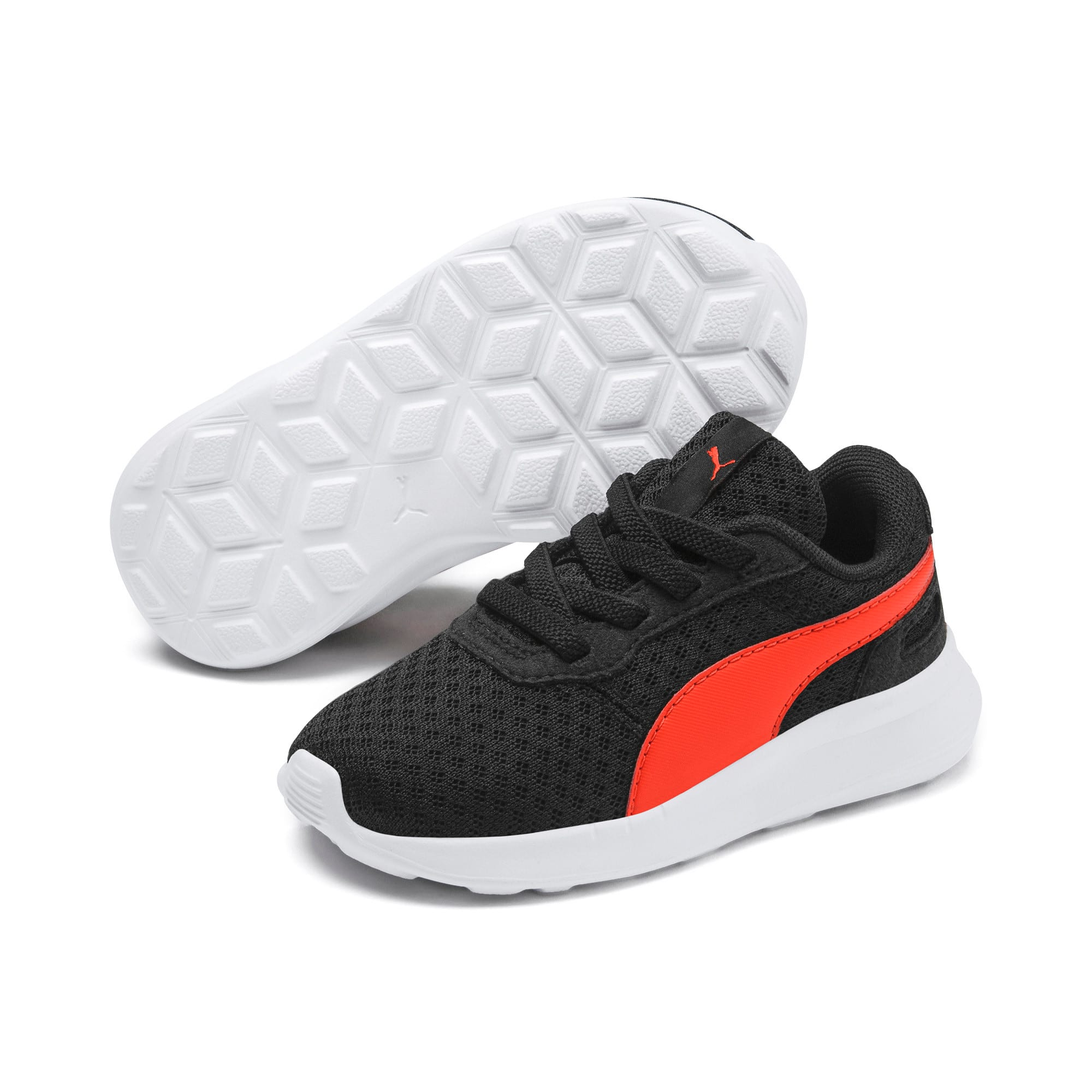 Thumbnail 2 of ST Activate AC Toddler Shoes, Puma Black-Cherry Tomato, medium