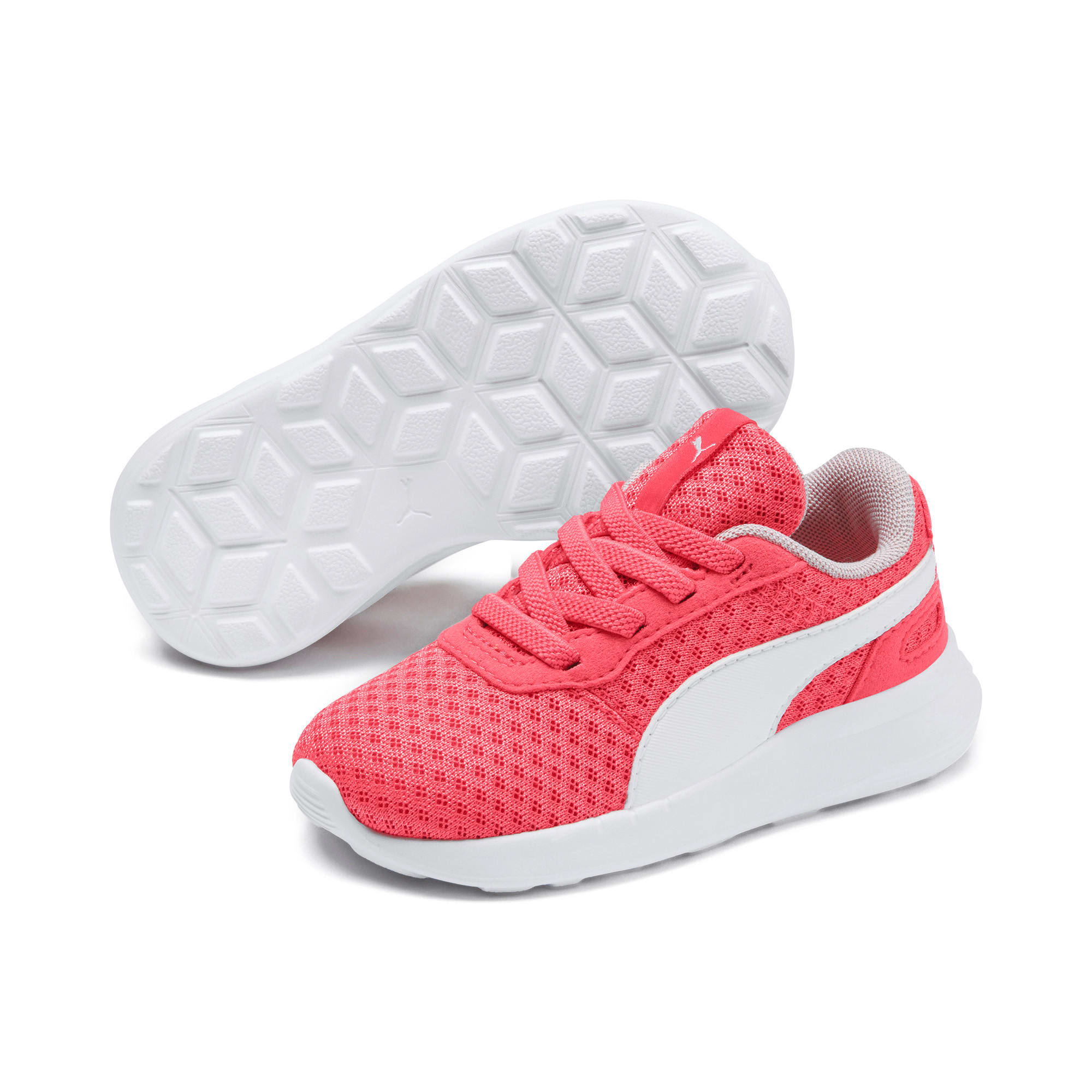 Miniatura 2 de Zapatos ST Activate AC para bebé, Calypso Coral-Puma White, mediano