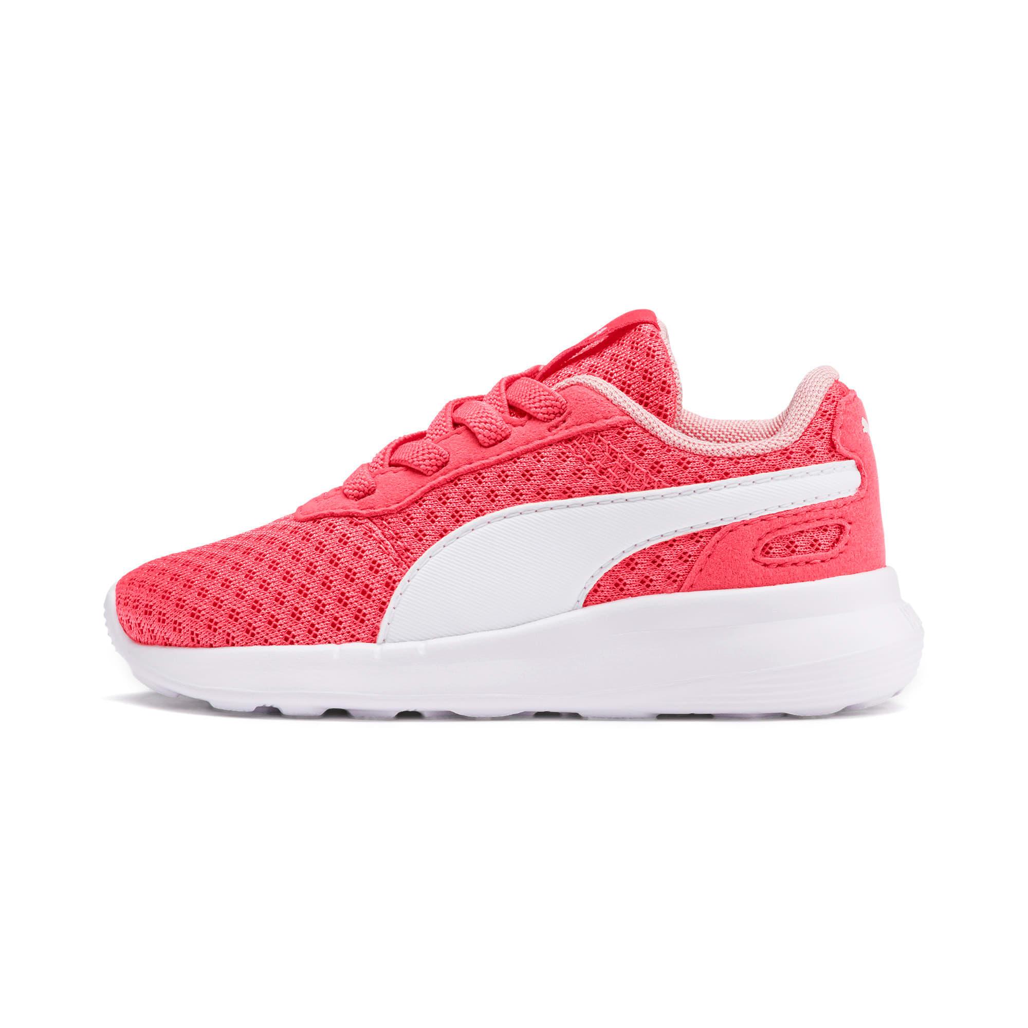 Miniatura 1 de Zapatos ST Activate AC para bebé, Calypso Coral-Puma White, mediano