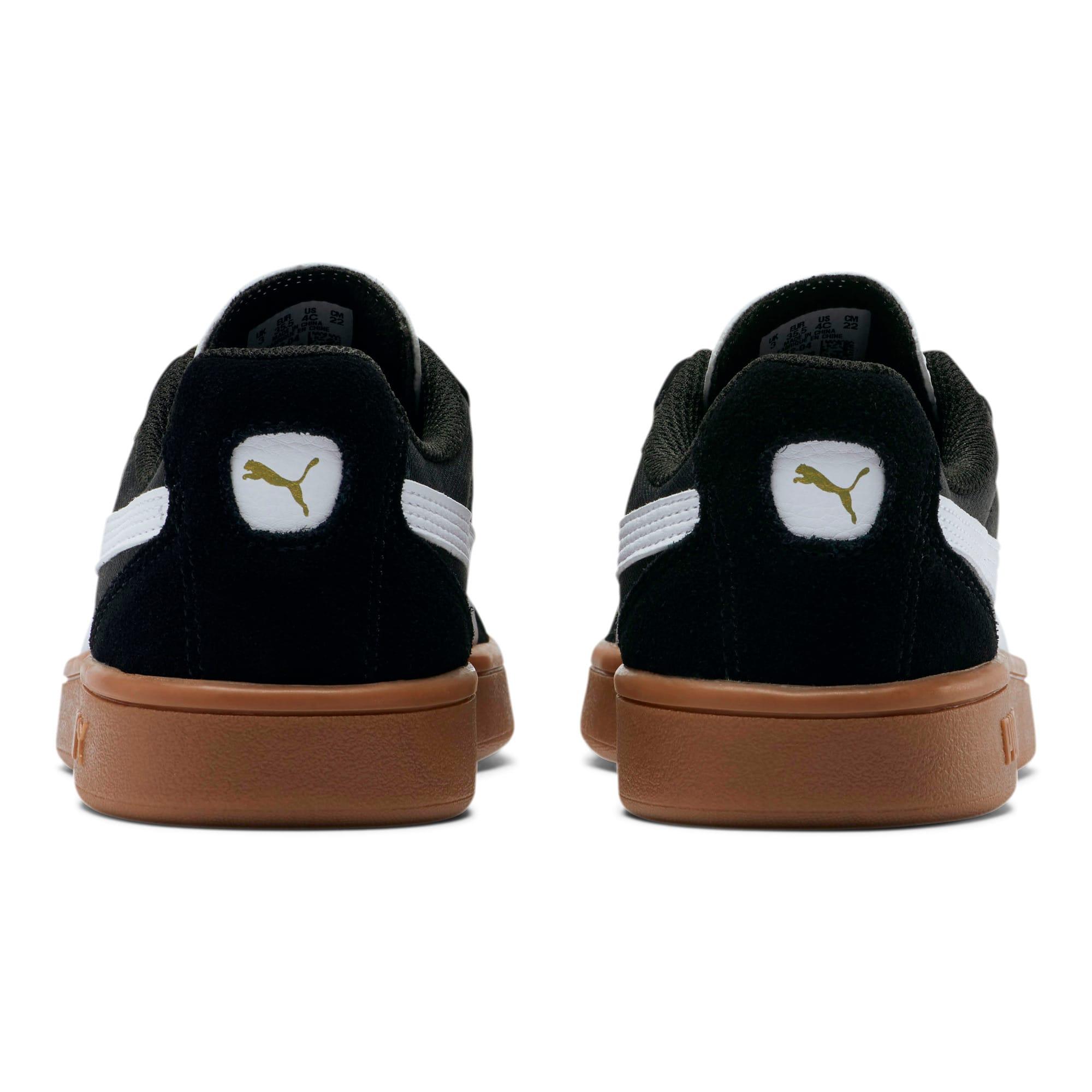 Thumbnail 3 of Astro Kick Sneakers JR, Puma Black-Puma White-Gold, medium