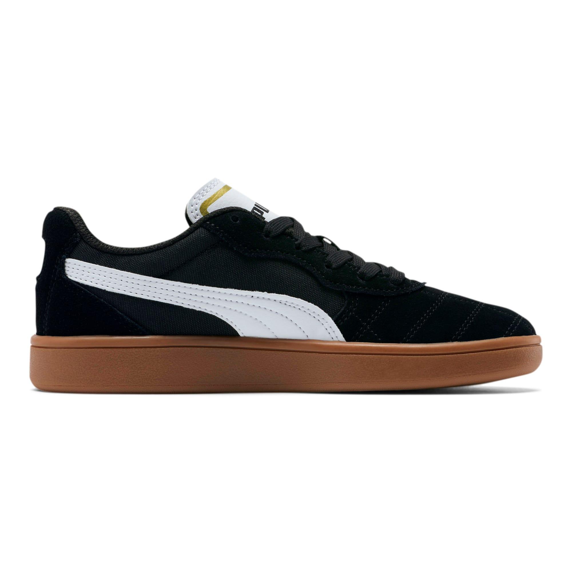 Thumbnail 5 of Astro Kick Sneakers JR, Puma Black-Puma White-Gold, medium