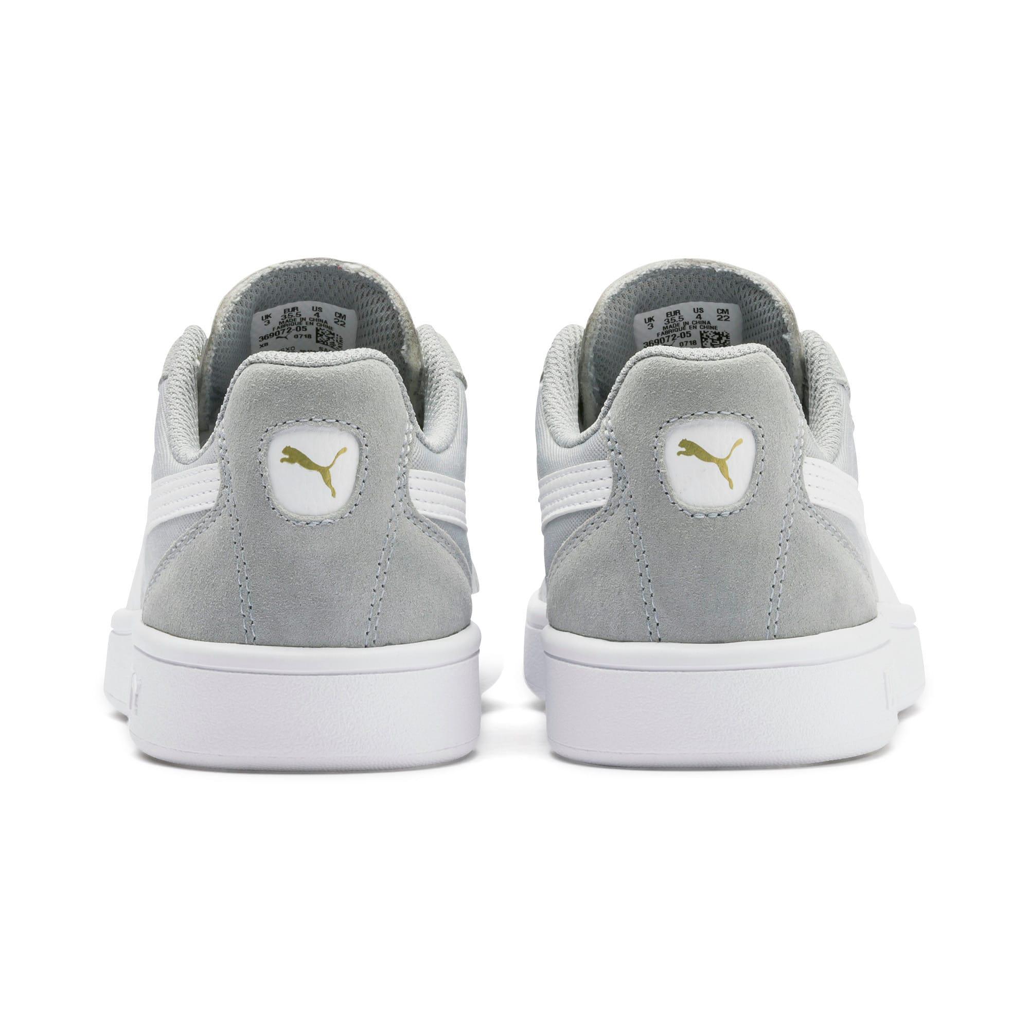 Thumbnail 3 of Astro Kick Sneakers JR, HRise-White-Gold-GViolet-Gum, medium
